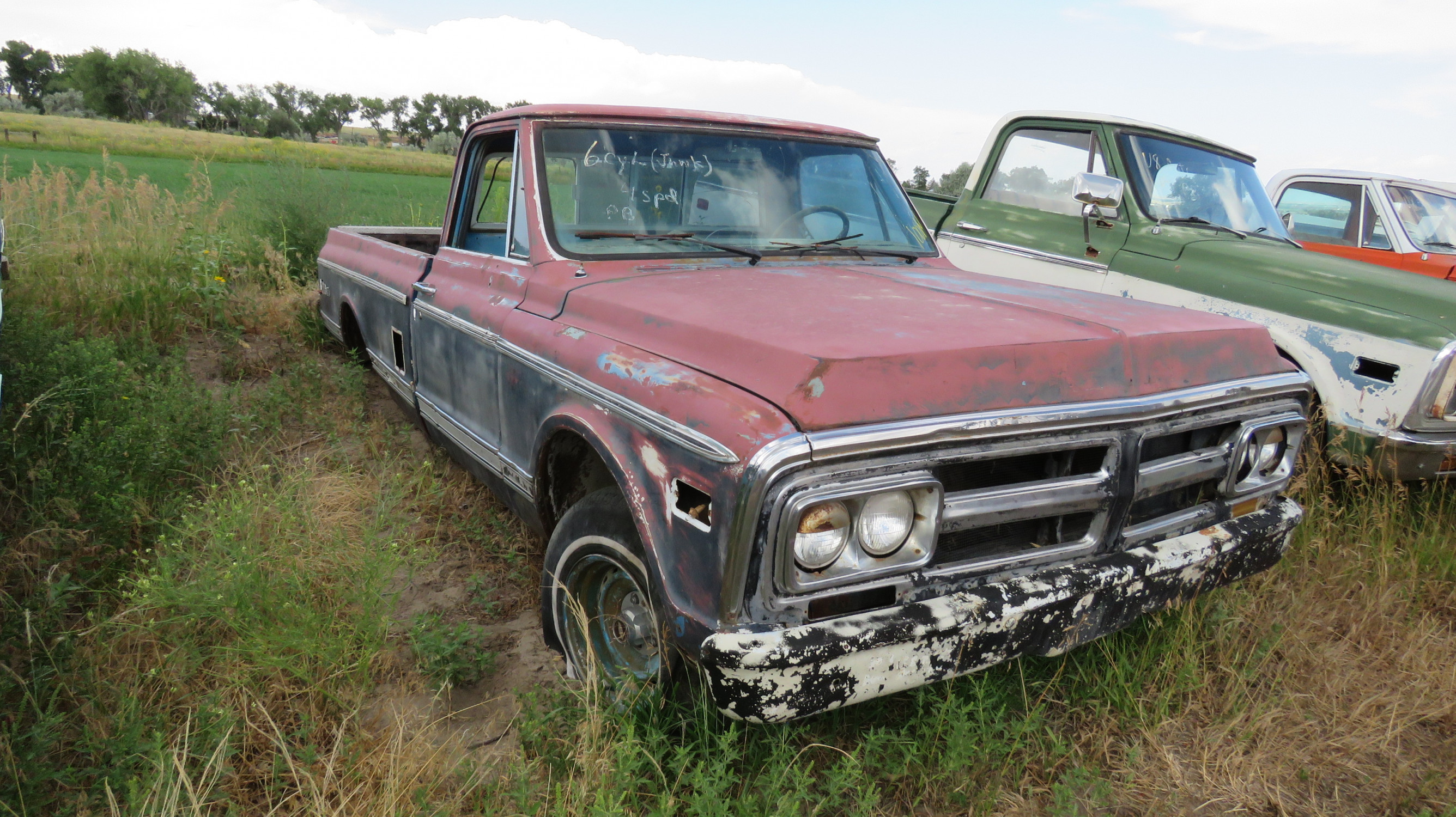 1972 GMC PICKUP FOR RESTORE - Image 1