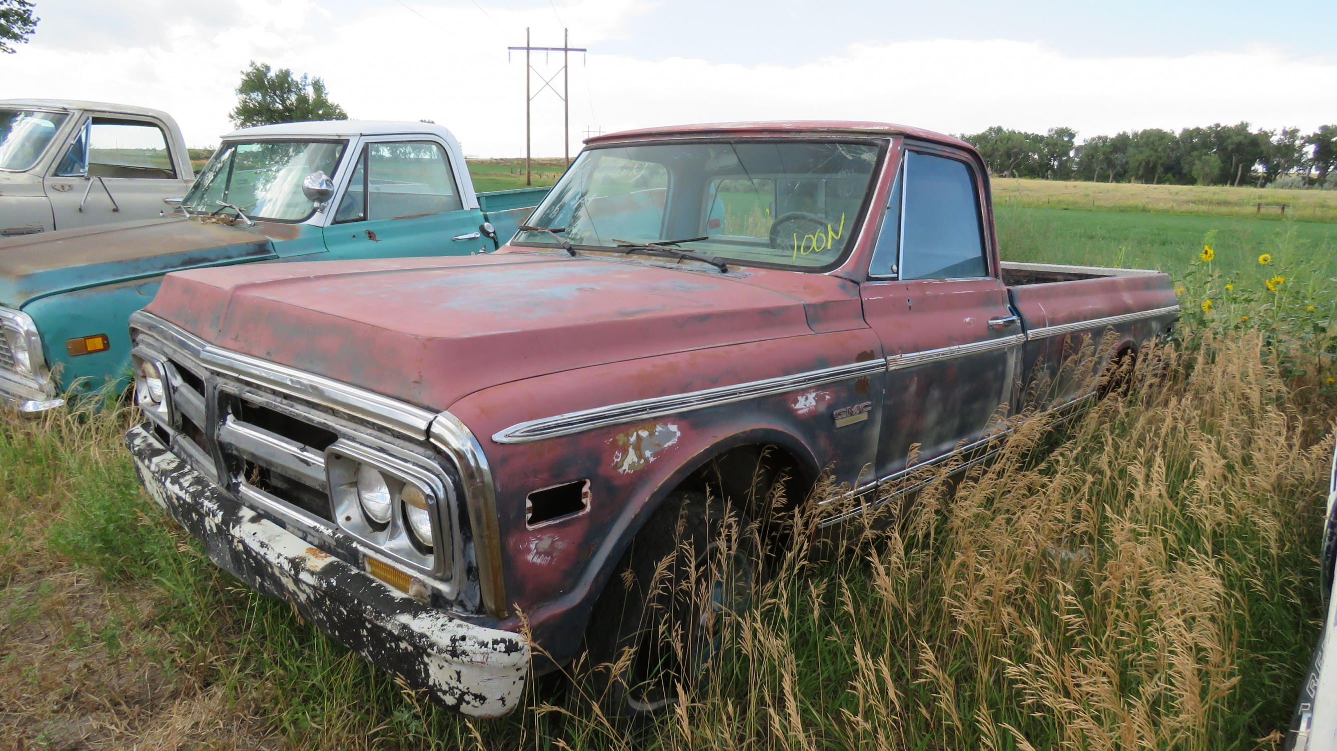 1972 GMC PICKUP FOR RESTORE - Image 2