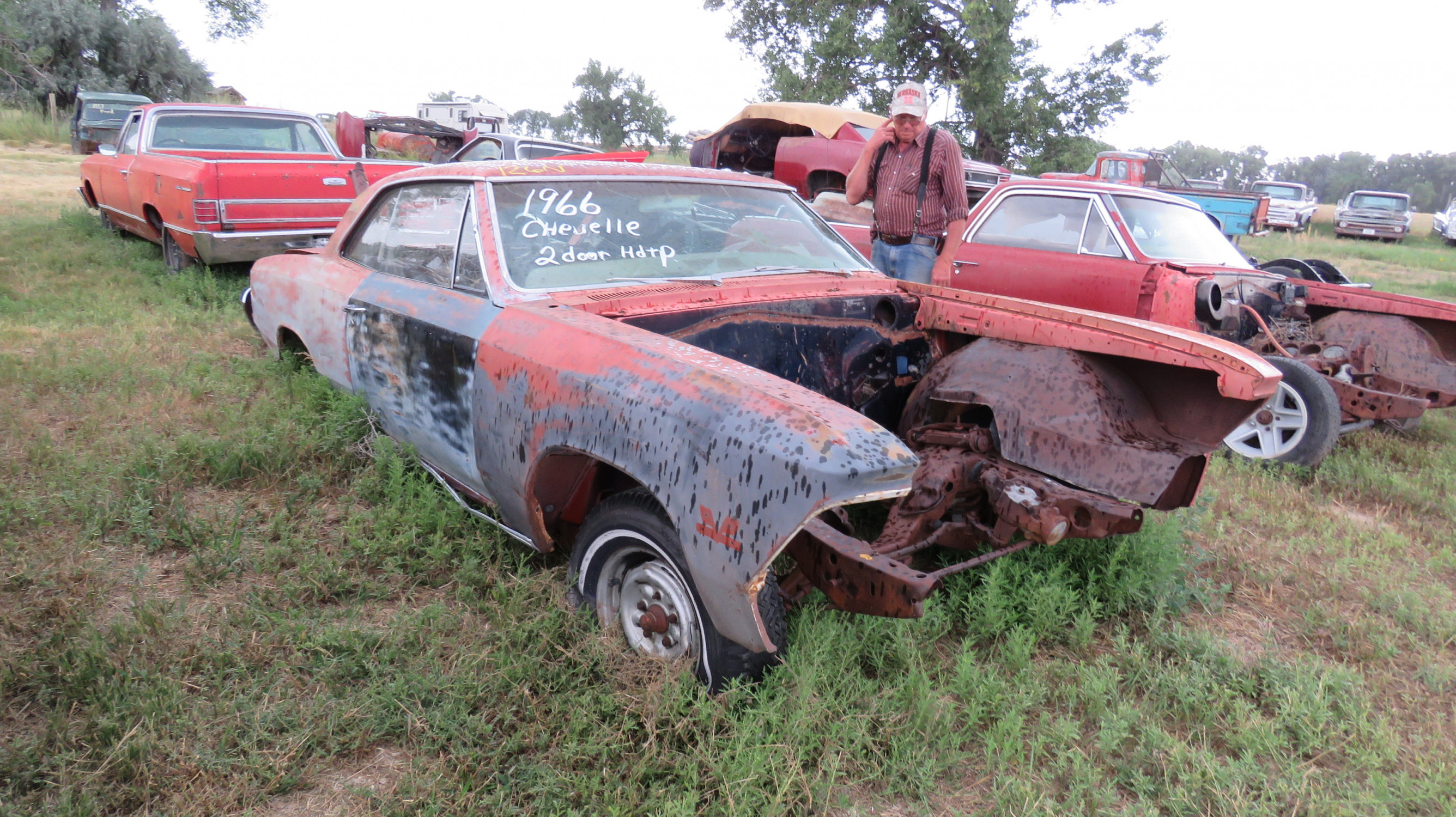 1966 CHEVROLET CHEVELLE FOR PARTS - Image 1