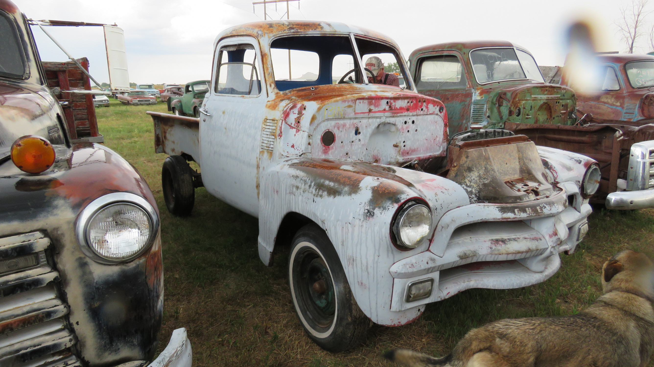 1954 CHEVROLET 5 WINDOW PICKUP PROJECT - Image 1