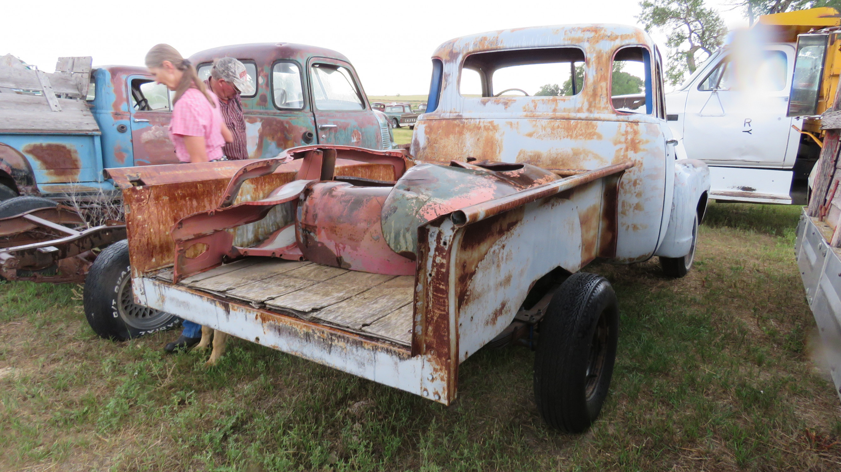 1954 CHEVROLET 5 WINDOW PICKUP PROJECT - Image 4