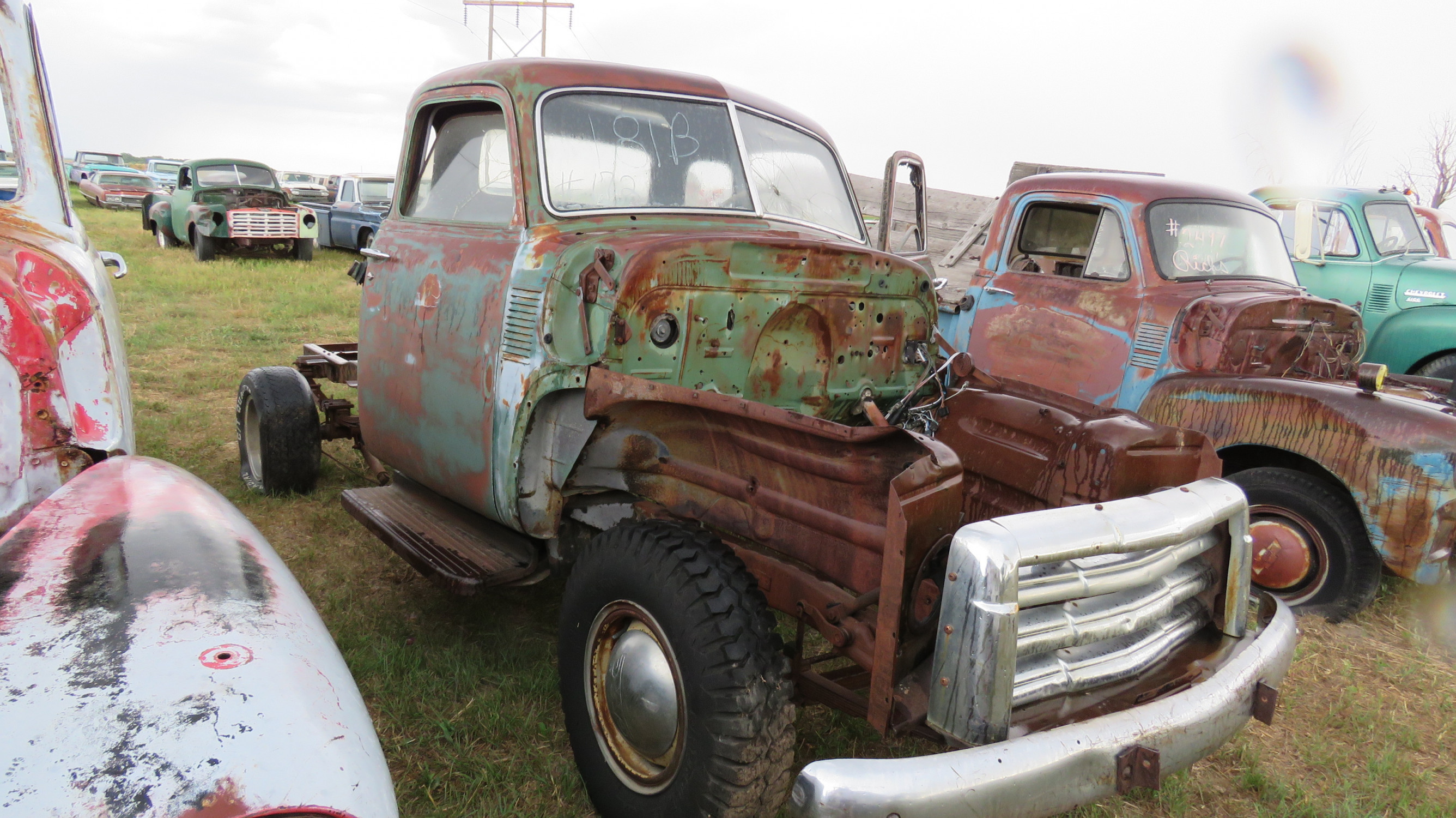 1950'S CHEVROLET 5 WINDOW CAB PICKUP PROJECT - Image 1