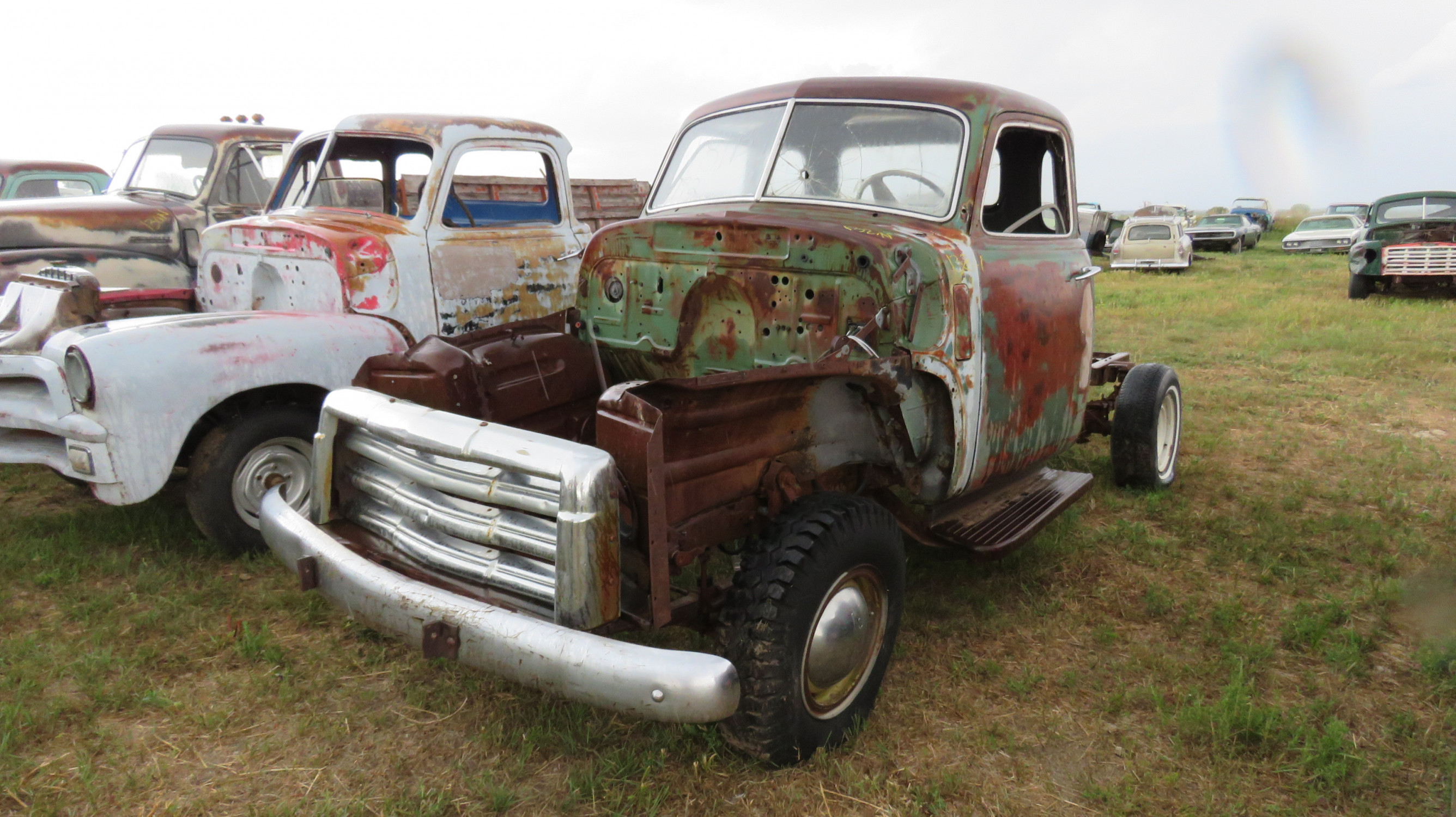 1950'S CHEVROLET 5 WINDOW CAB PICKUP PROJECT - Image 3