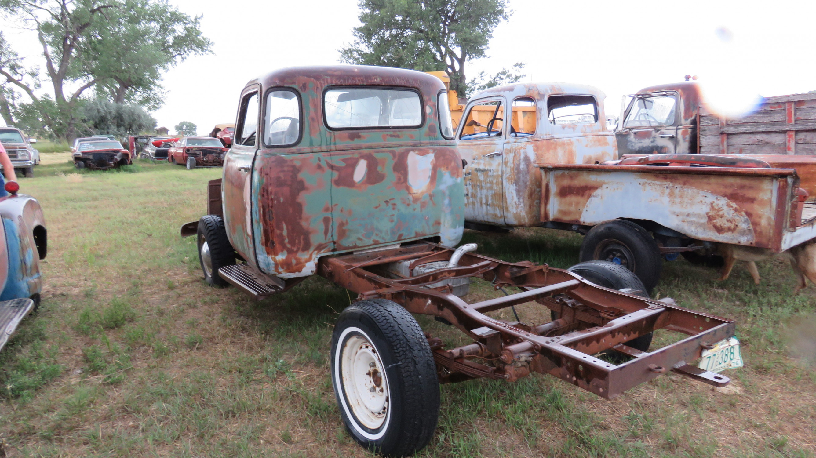 1950'S CHEVROLET 5 WINDOW CAB PICKUP PROJECT - Image 4