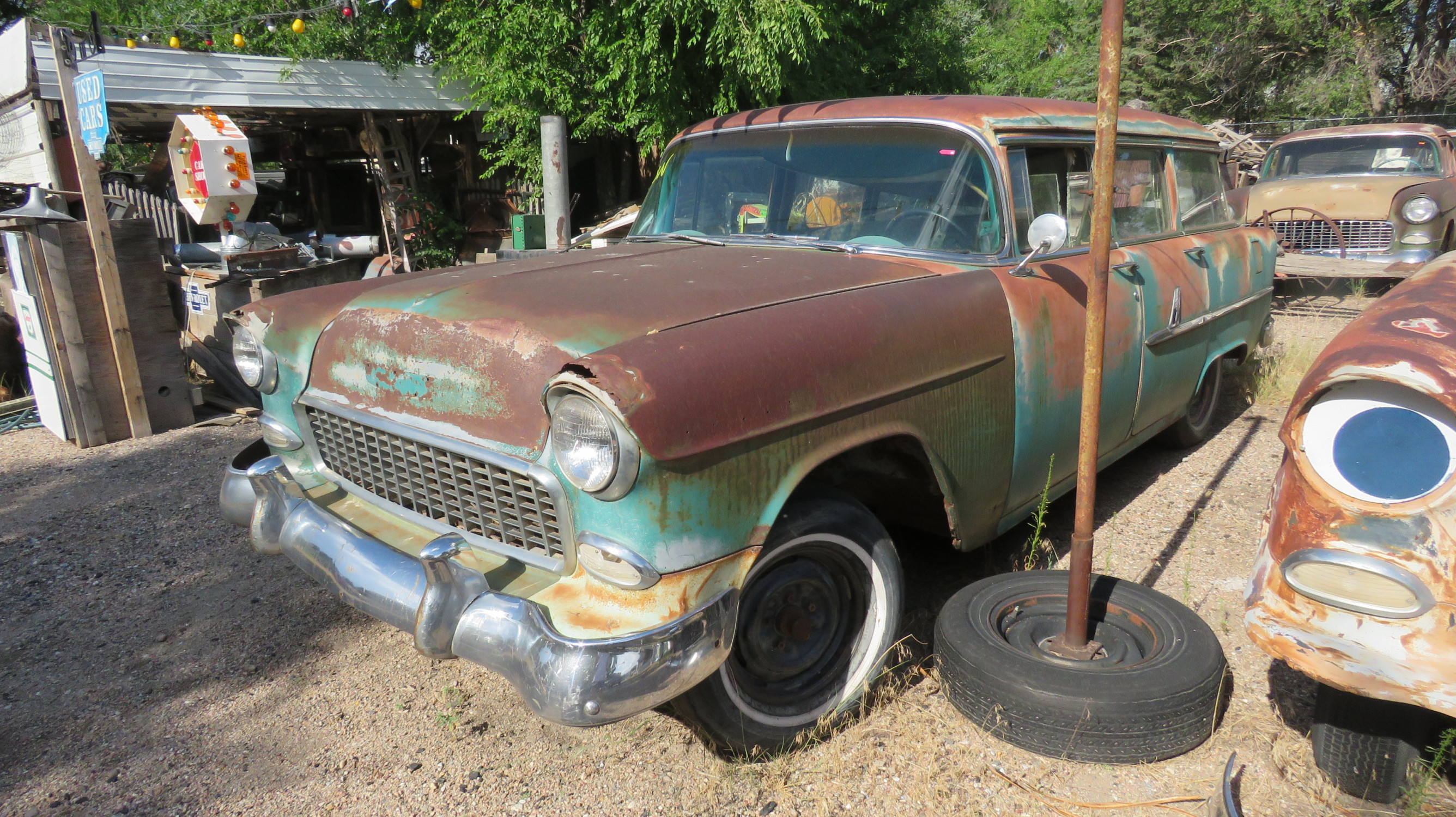 1955 CHEVROLET 4DR WAGON PROJECT - Image 2