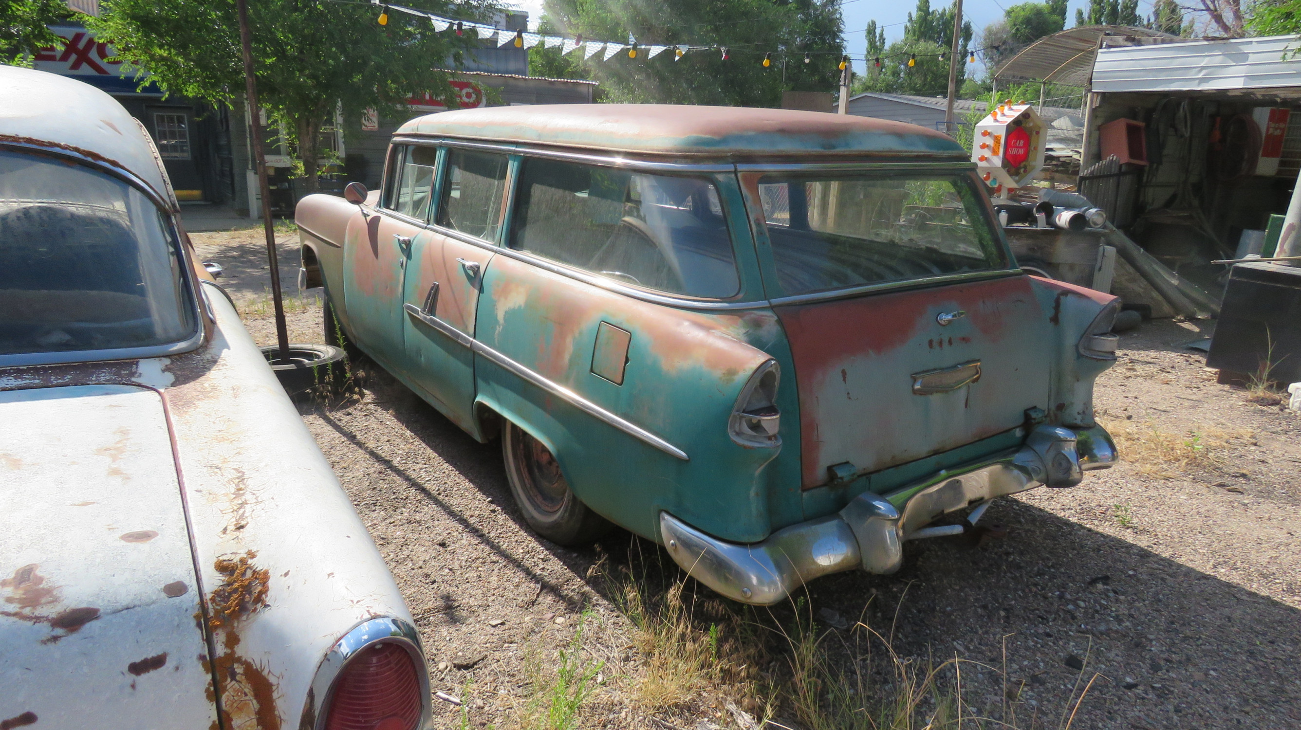 1955 CHEVROLET 4DR WAGON PROJECT - Image 4