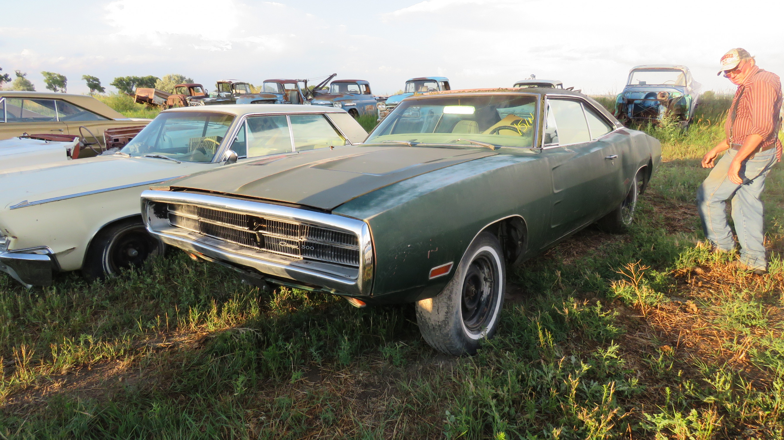 1970 DODGE CHARGER 500 ROLLING PROJECT - Image 1