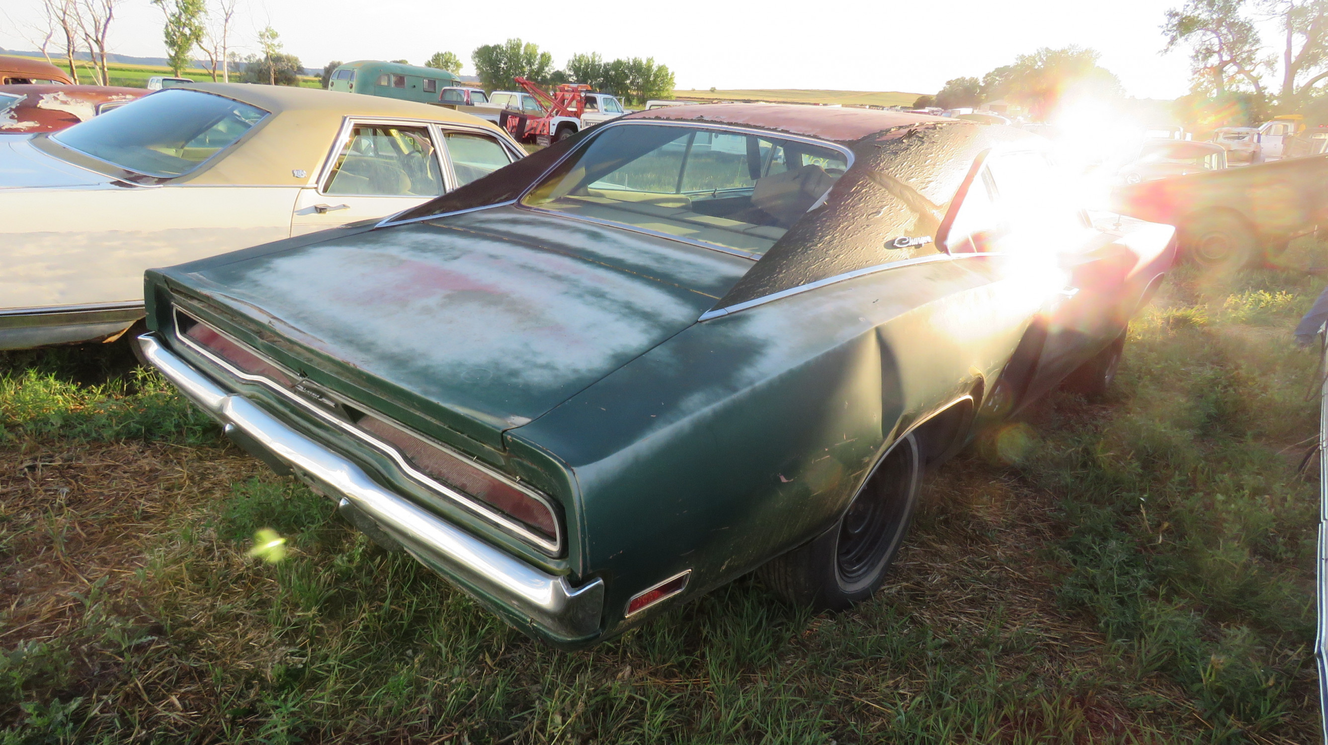 1970 DODGE CHARGER 500 ROLLING PROJECT - Image 12