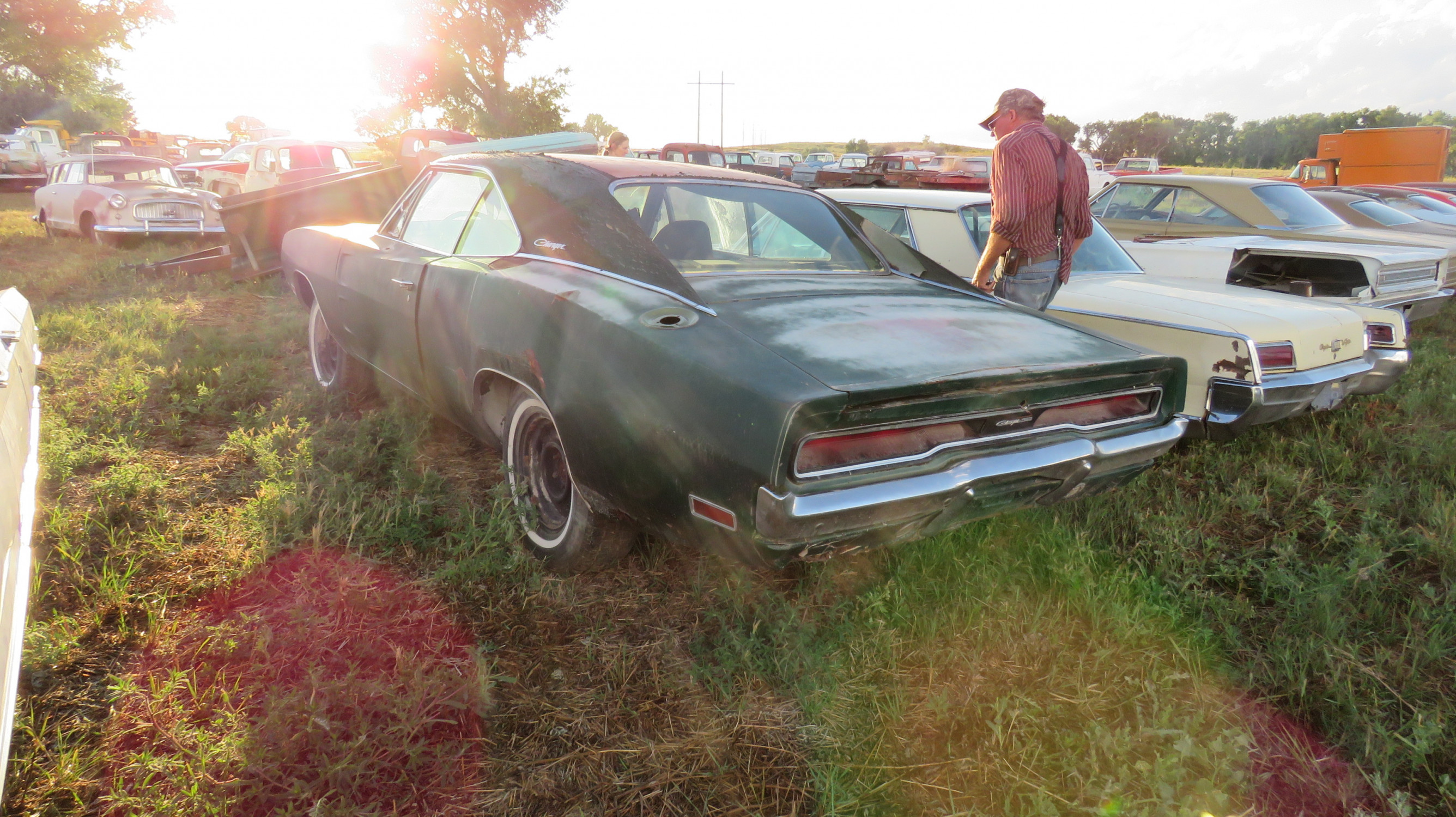 1970 DODGE CHARGER 500 ROLLING PROJECT - Image 3