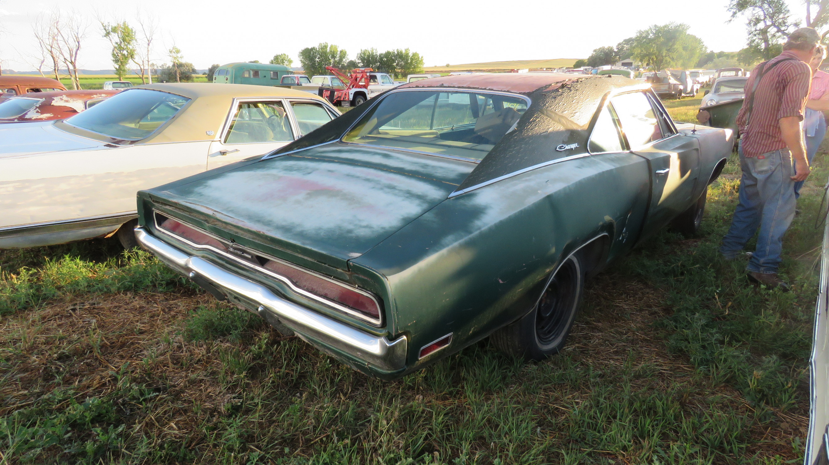 1970 DODGE CHARGER 500 ROLLING PROJECT - Image 4