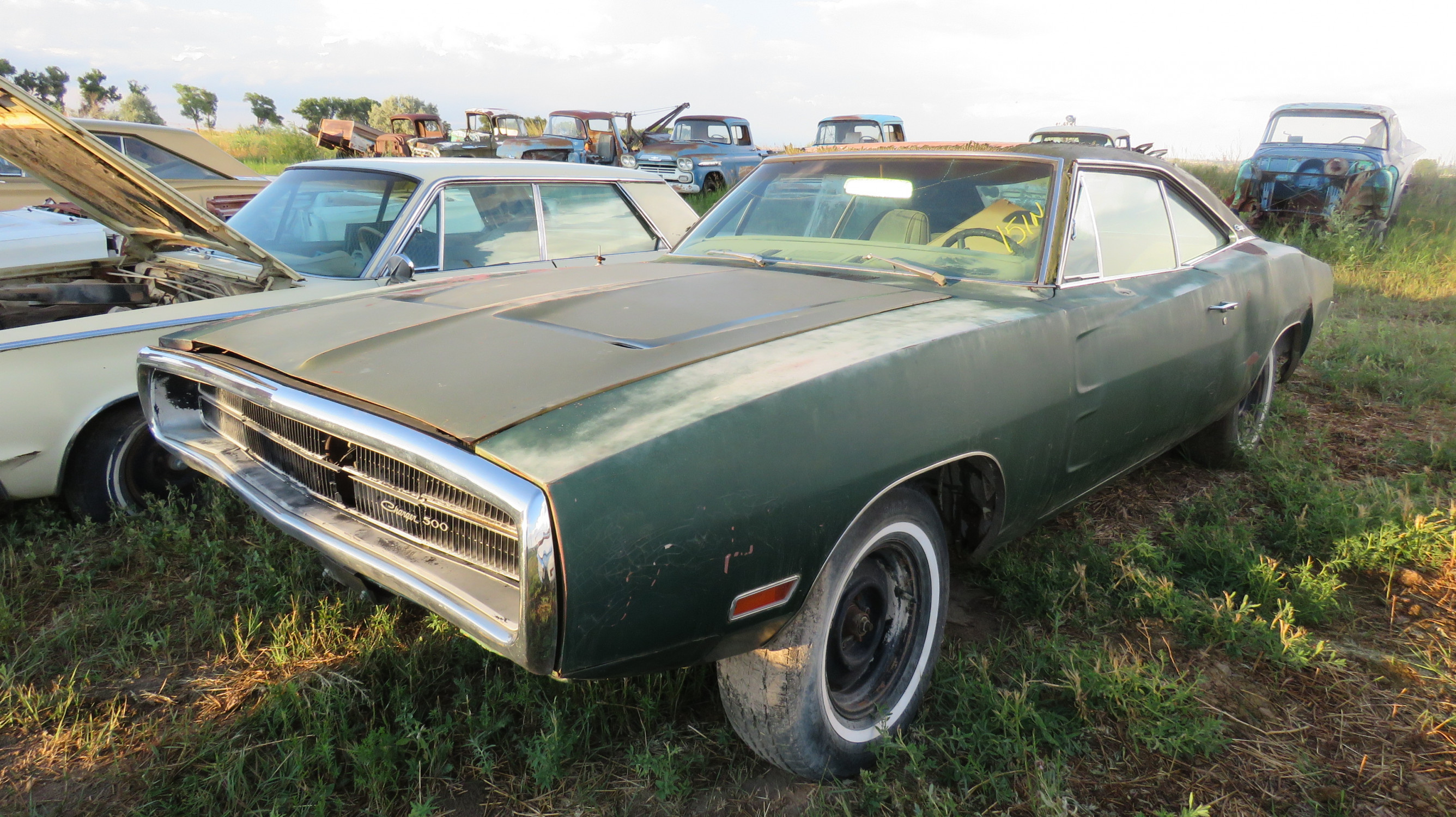 1970 DODGE CHARGER 500 ROLLING PROJECT - Image 6