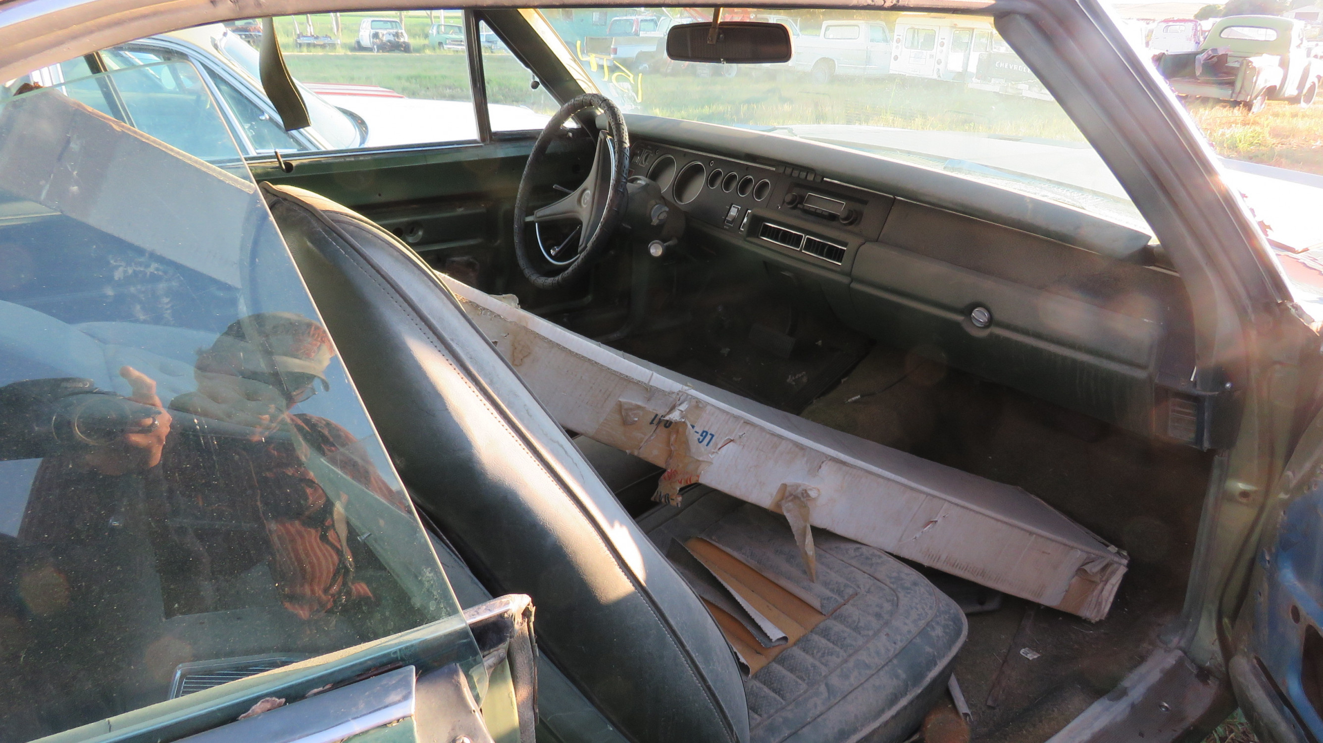 1970 DODGE CHARGER 500 ROLLING PROJECT - Image 8