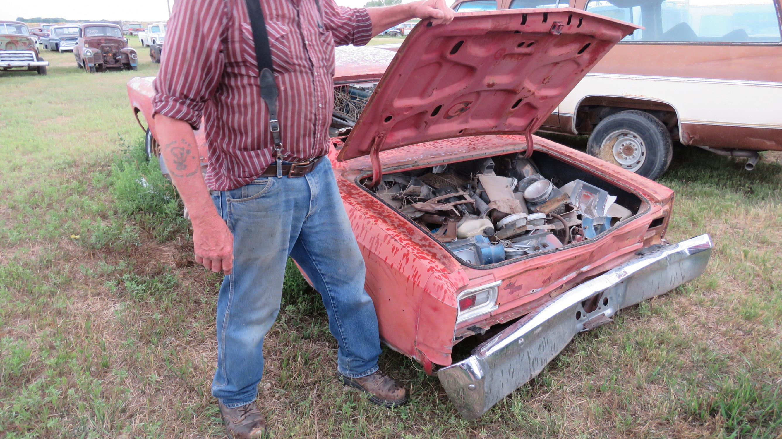 1973 PLYMOUTH DUSTER PROJECT - Image 3