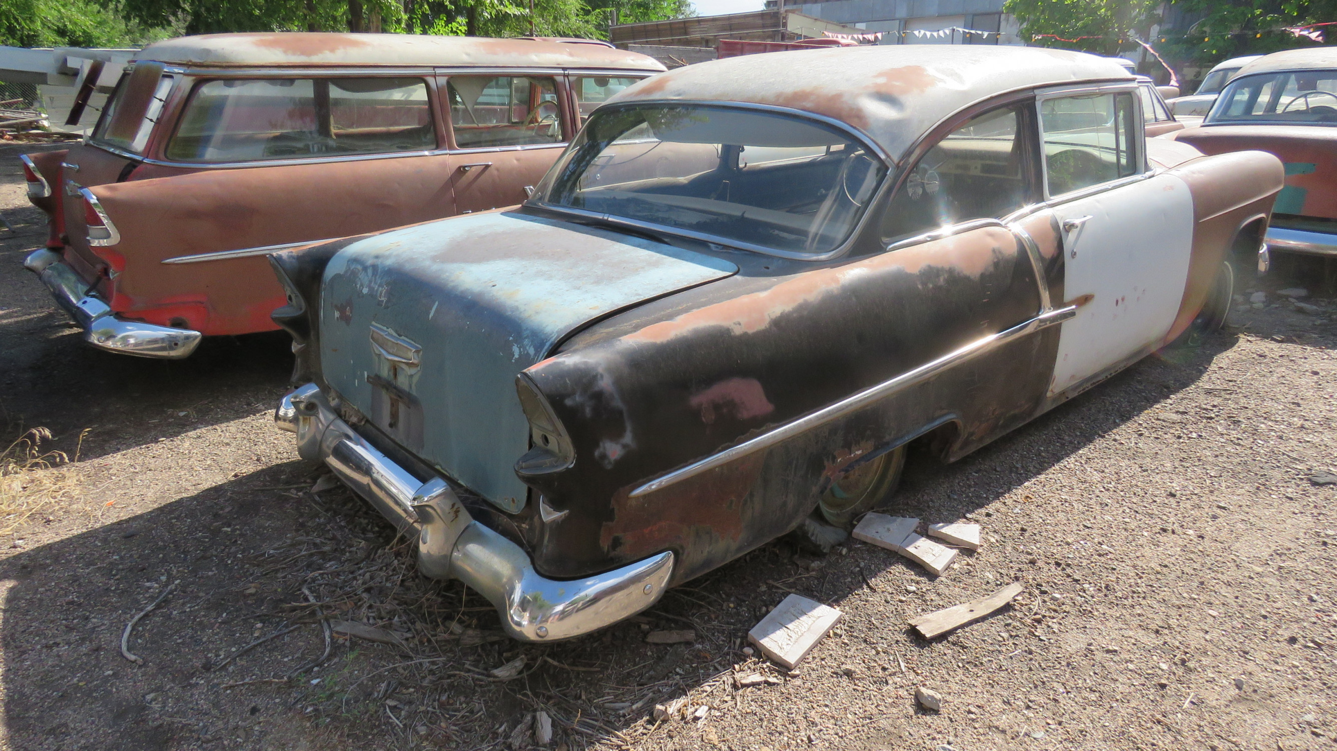 1955 CHEVROLET 2DR SEDAN PROJECT - Image 4