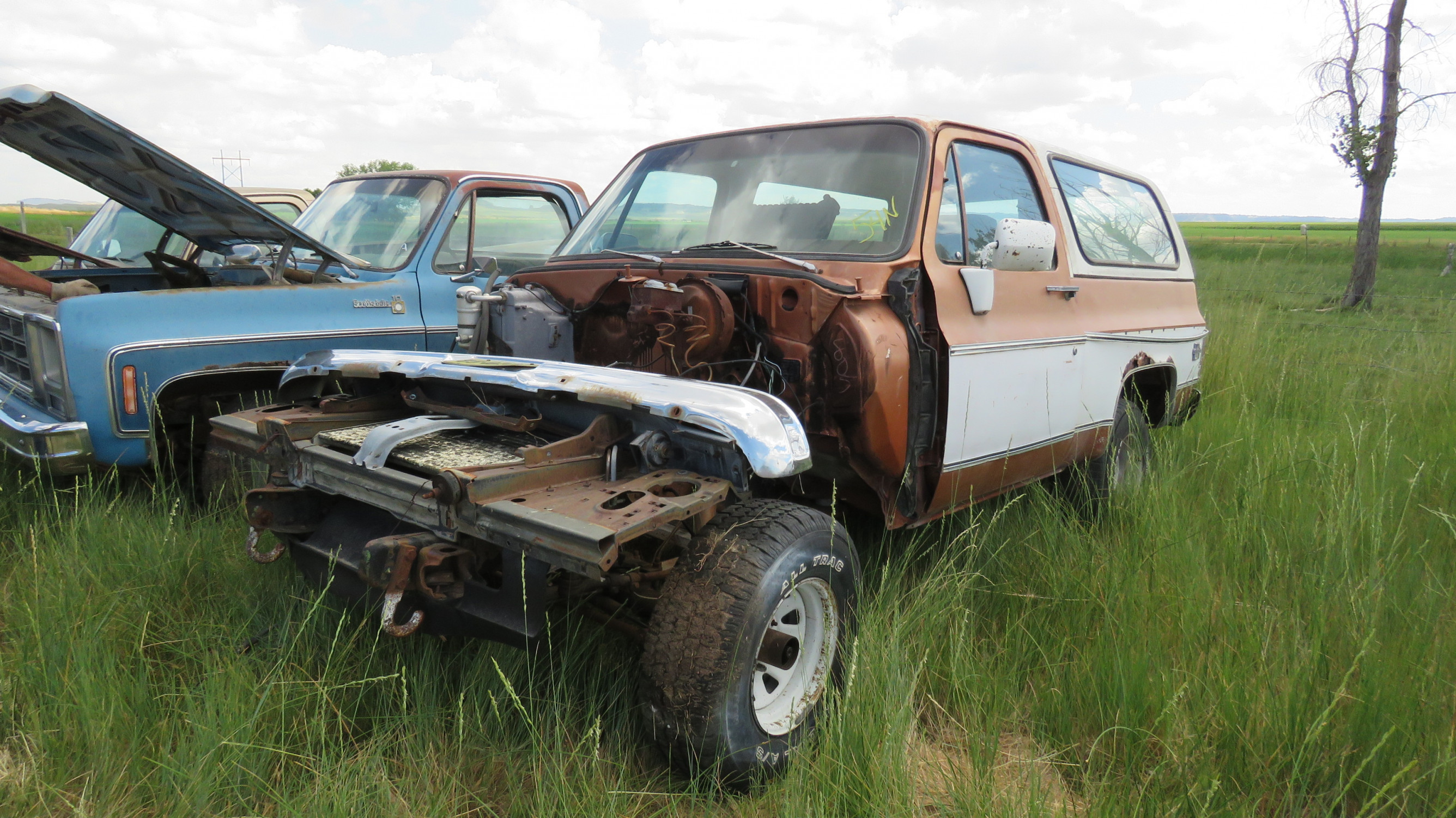 1978 CHEVROLET BLAZER FOR PARTS - Image 1