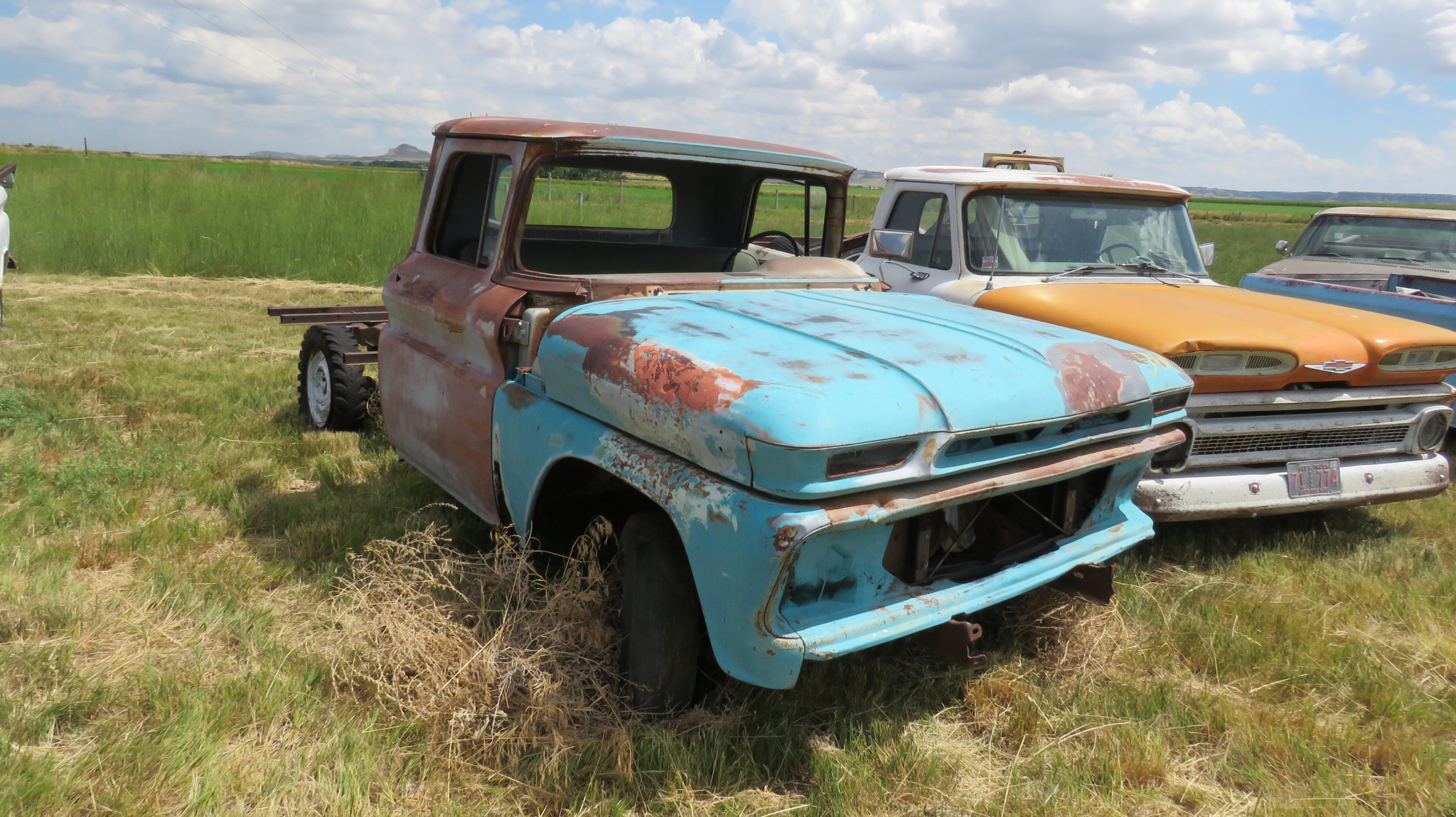 GMC PICKUP FOR PROJECT OR PARTS - Image 1
