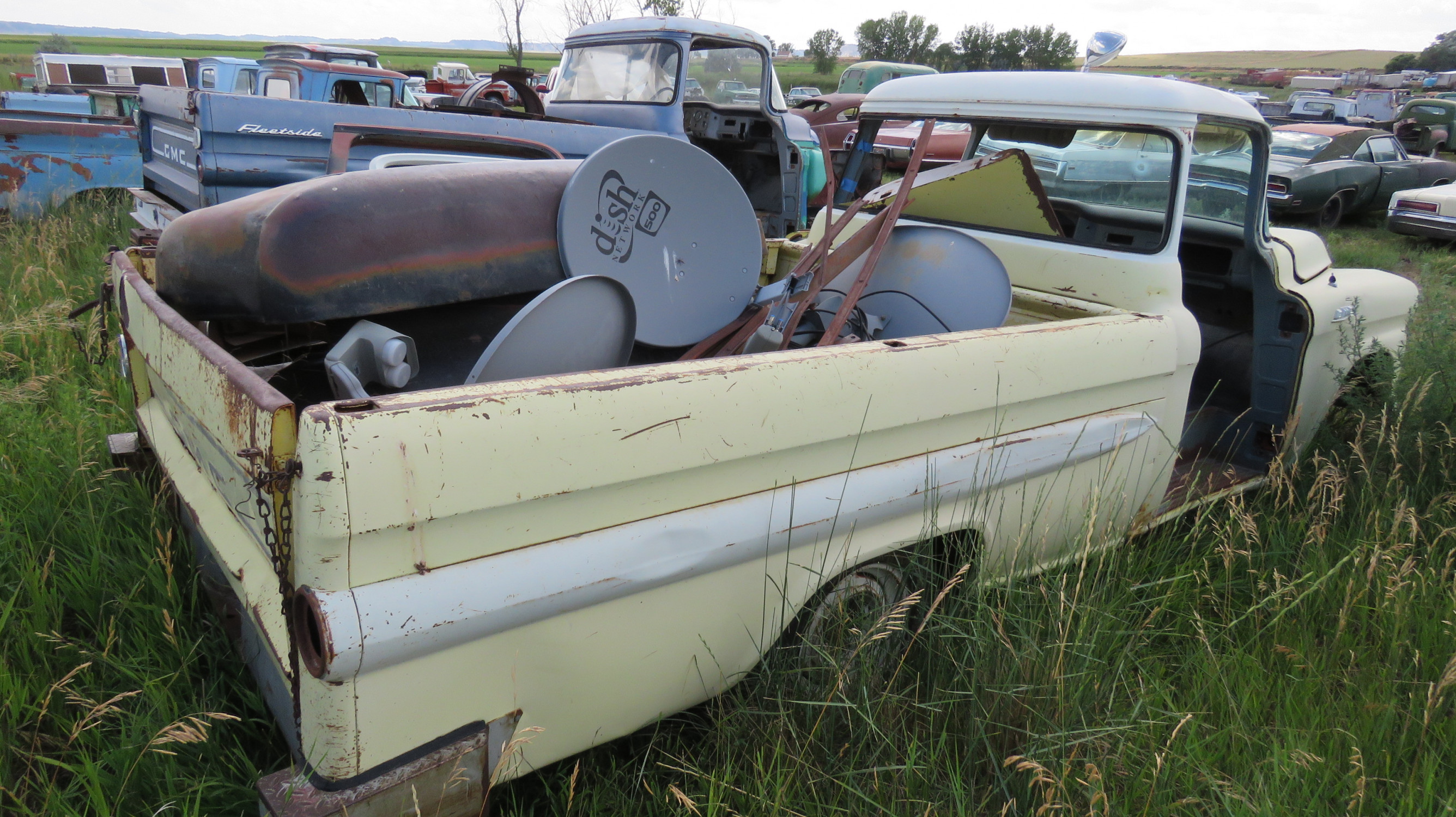1955 GMC FLEETSIDE PICKUP FOR PARTS OR PROJECT - Image 4