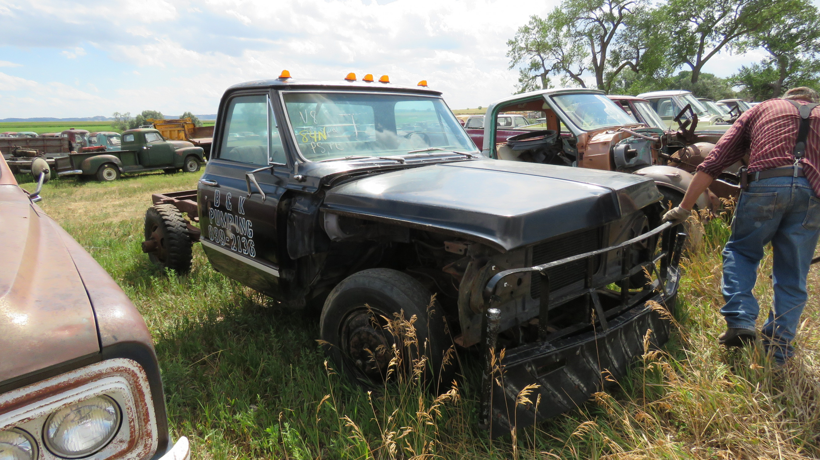 1969 CHEVROLET PICKUP FOR PARTS - Image 2