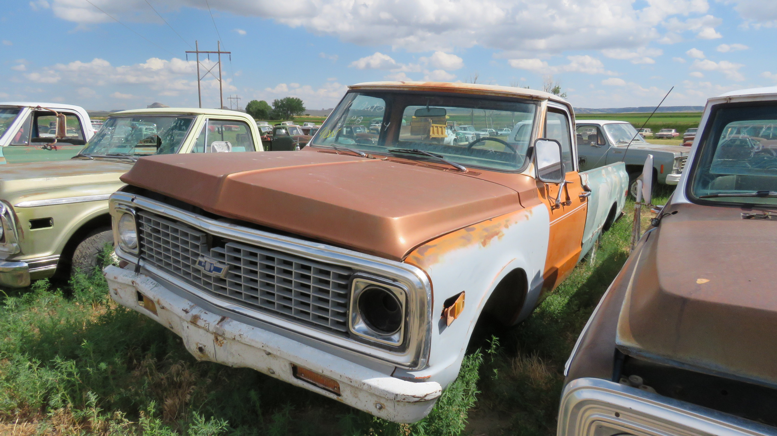 1971 CHEVROLET PICKUP FOR PARTS - Image 2