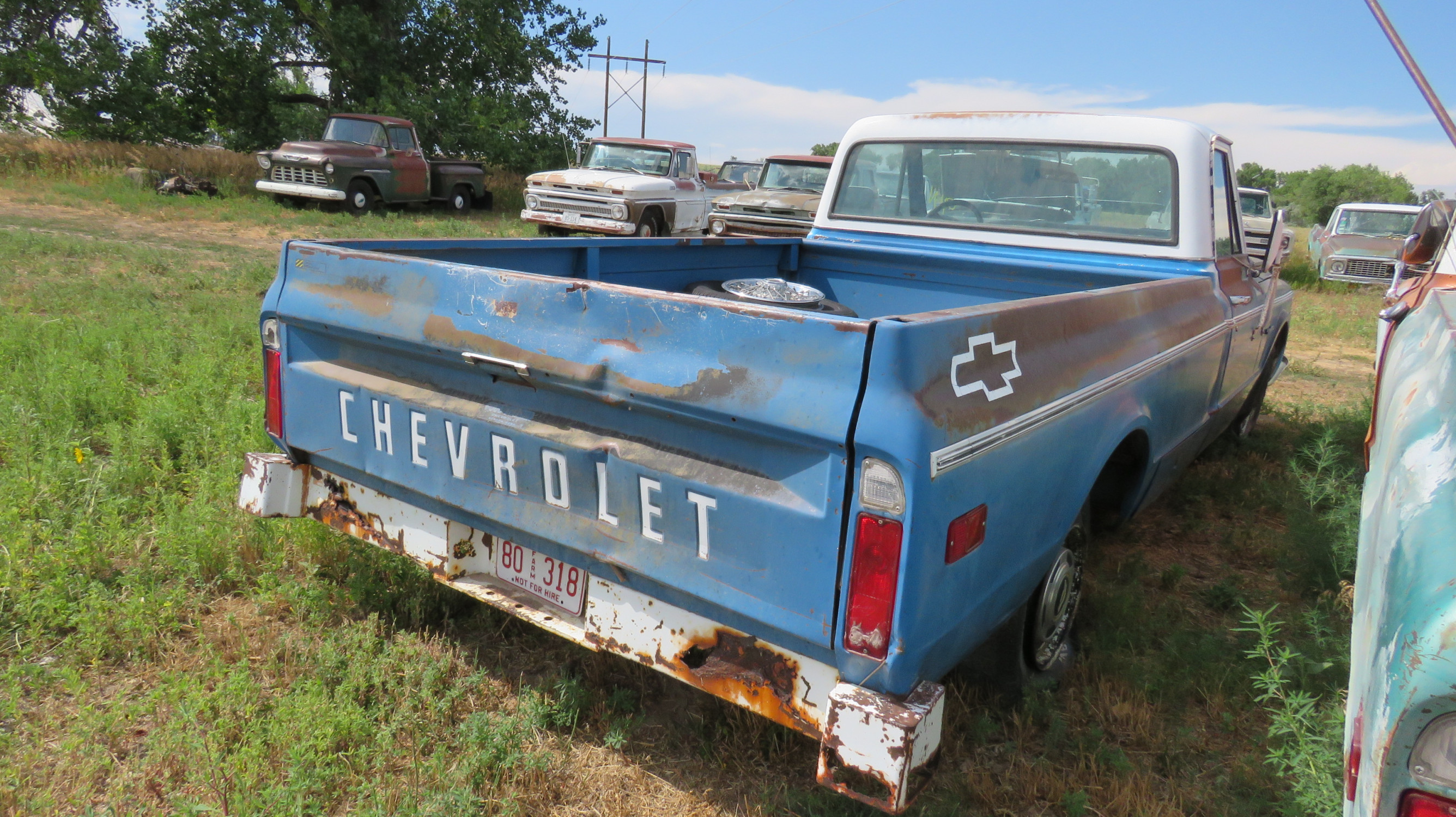1971 CHEVROLET PICKUP - Image 3
