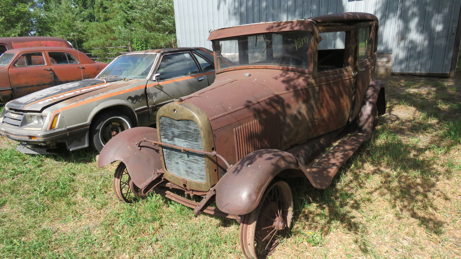 1928 Ford Model A 4dr Sedan for Rod or Restore - Image 1
