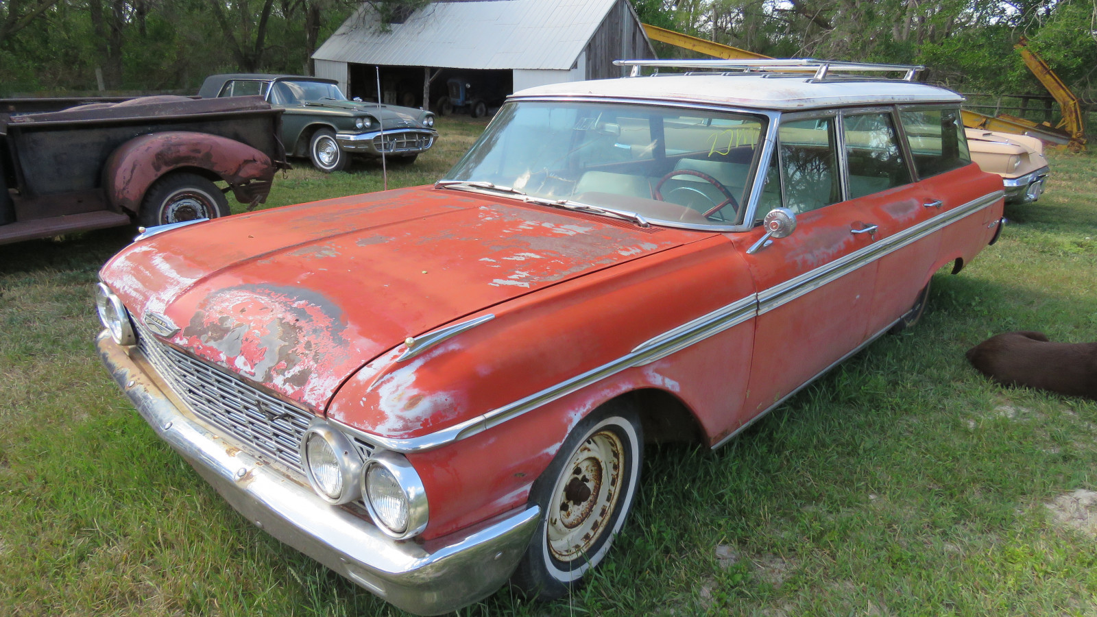 1962 Ford Country Sedan 4dr Wagon - Image 1