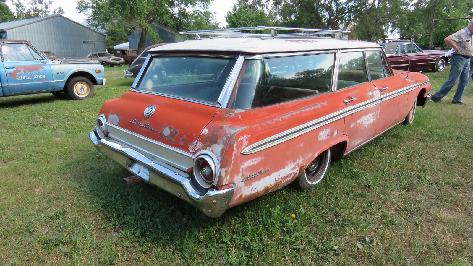 1962 Ford Country Sedan 4dr Wagon - Image 4