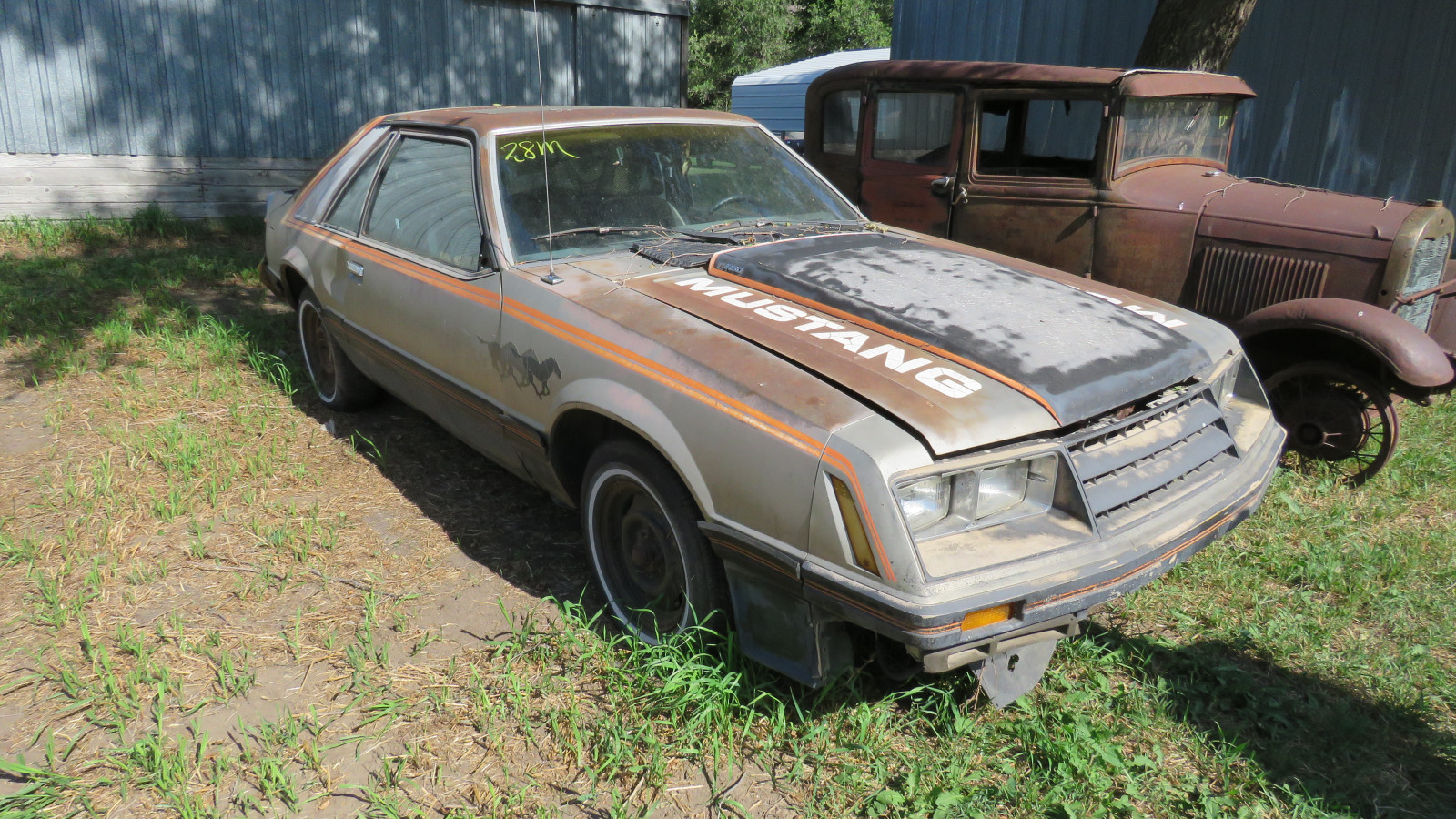 1979 Ford Mustang Coupe for Project or Parts - Image 1