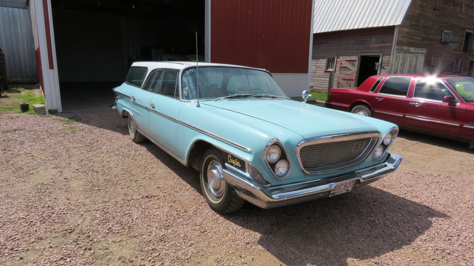 1962 Chrysler Newport 4dr Wagon Survivor - Image 1