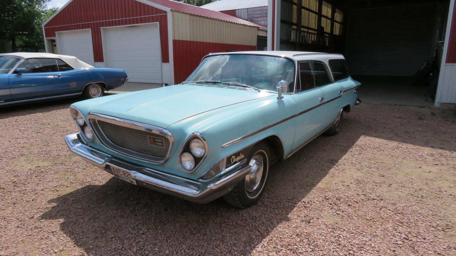 1962 Chrysler Newport 4dr Wagon Survivor - Image 3