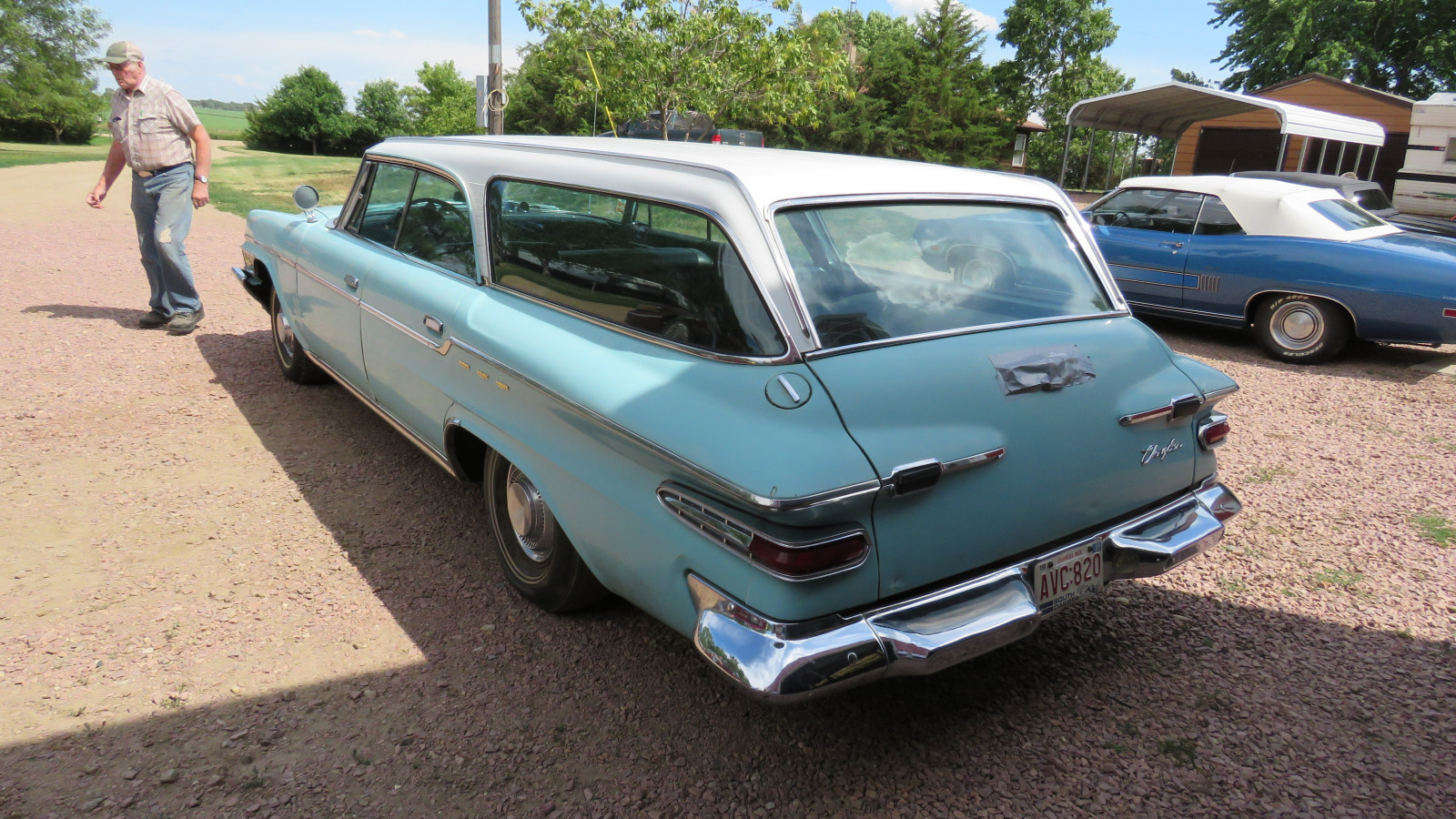 1962 Chrysler Newport 4dr Wagon Survivor - Image 4