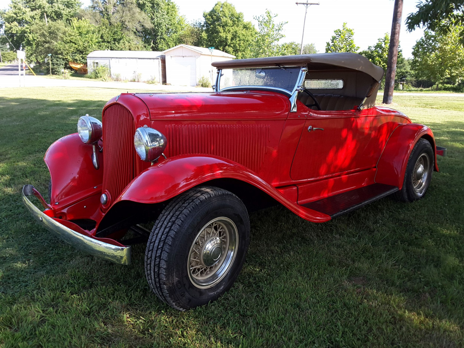 1932 Plymouth Sport Roadster Street rod - Image 1