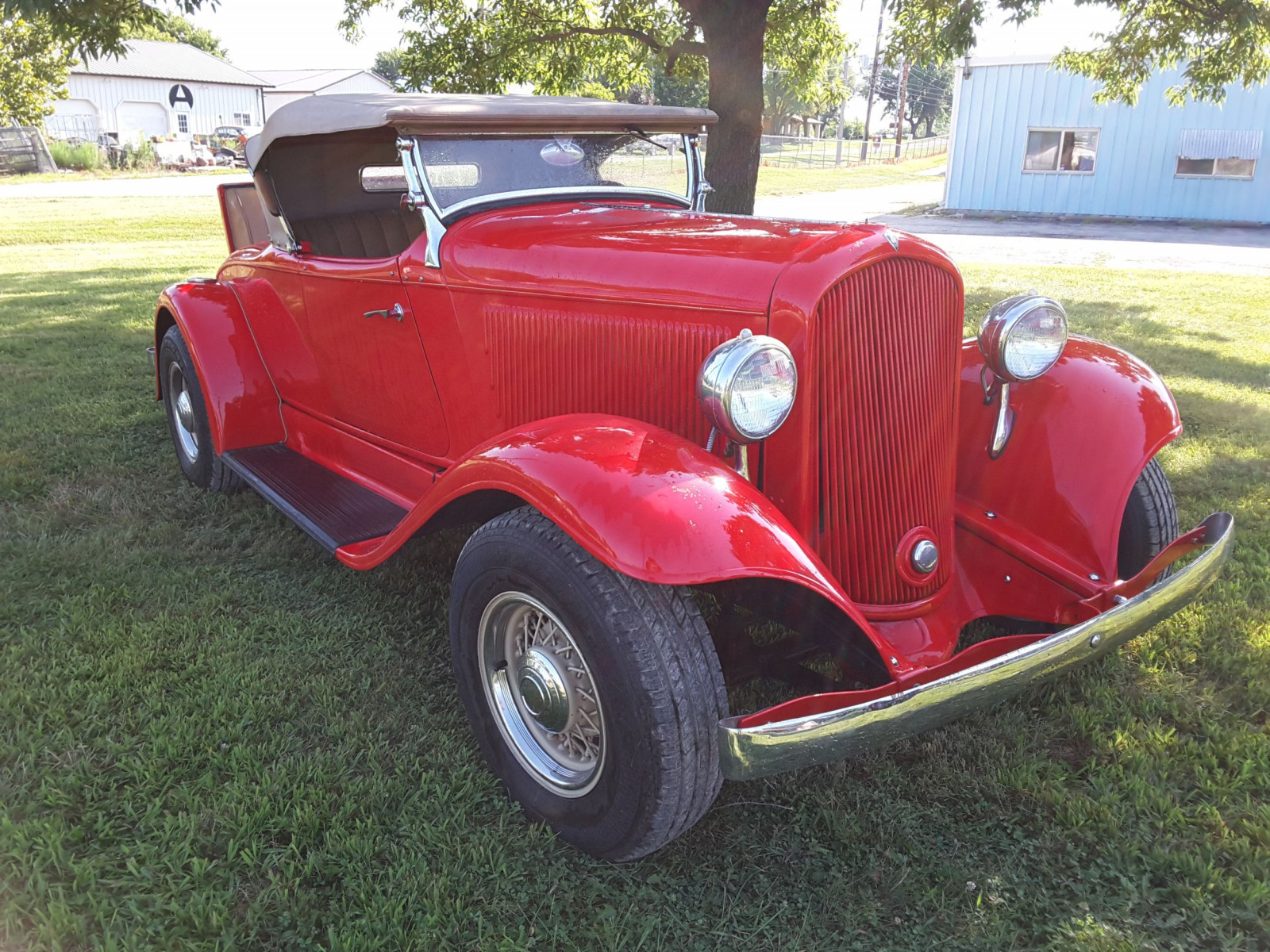 1932 Plymouth Sport Roadster Street rod - Image 3