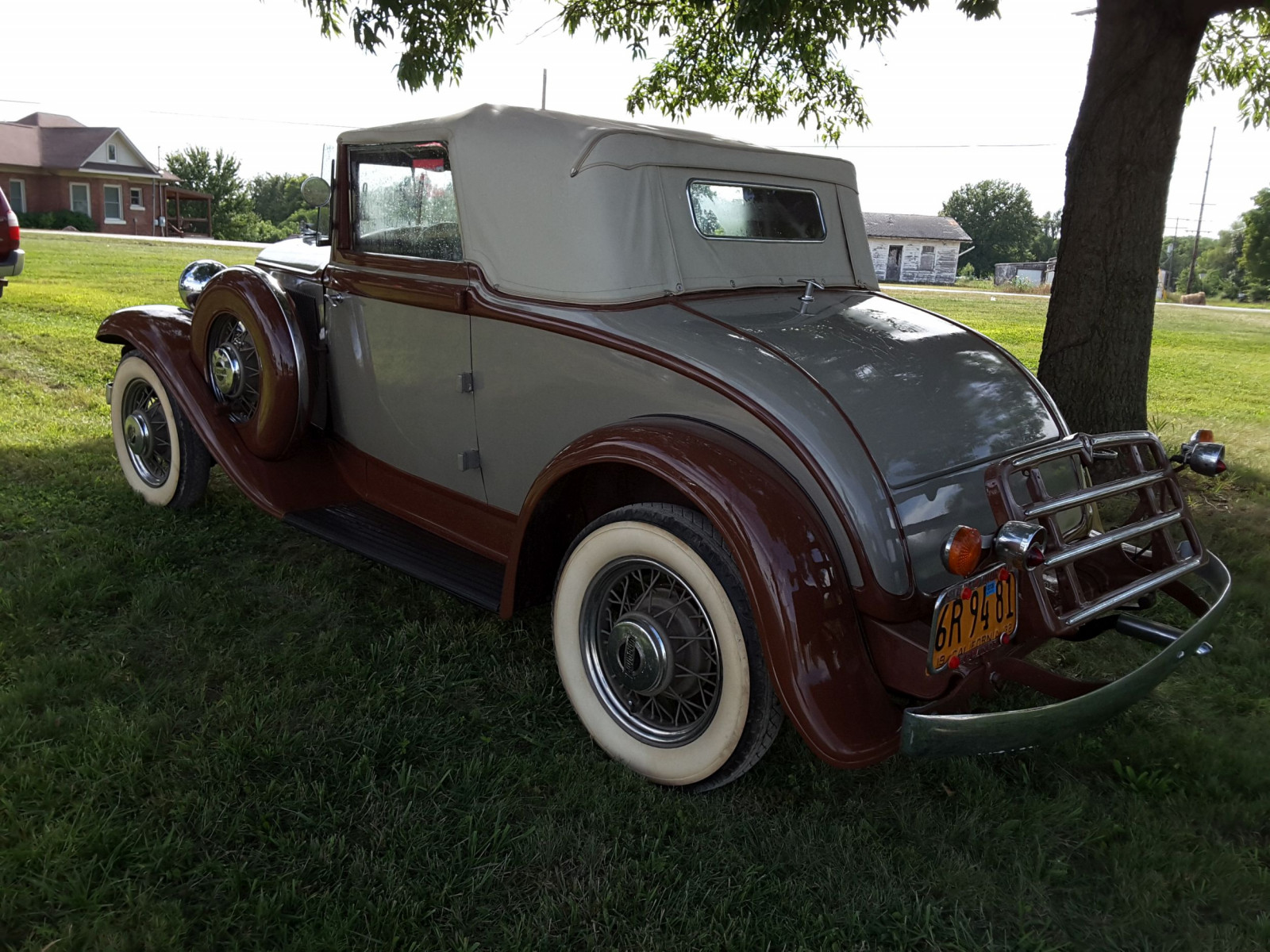 1932 Plymouth Convertible Coupe - Image 4