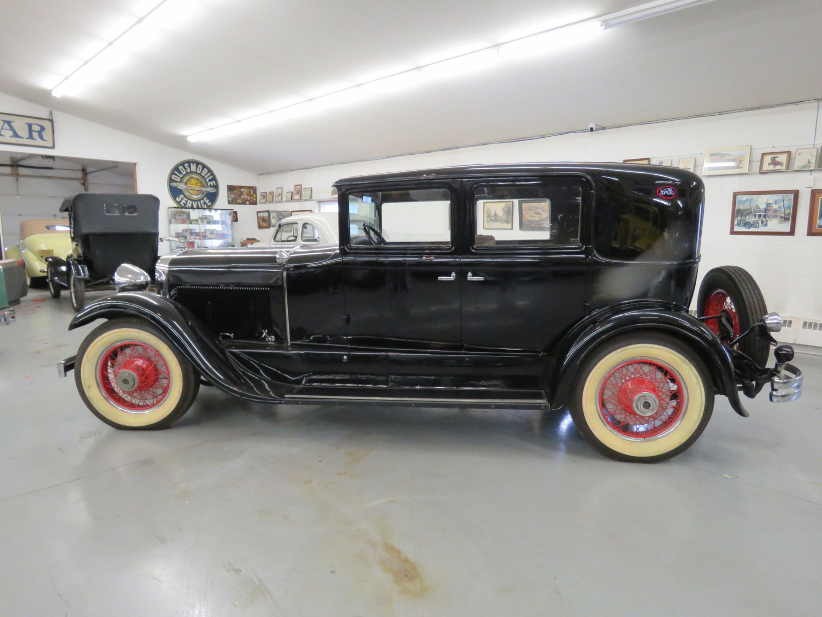 1929 Lincoln Model L 4dr Sedan - Image 9