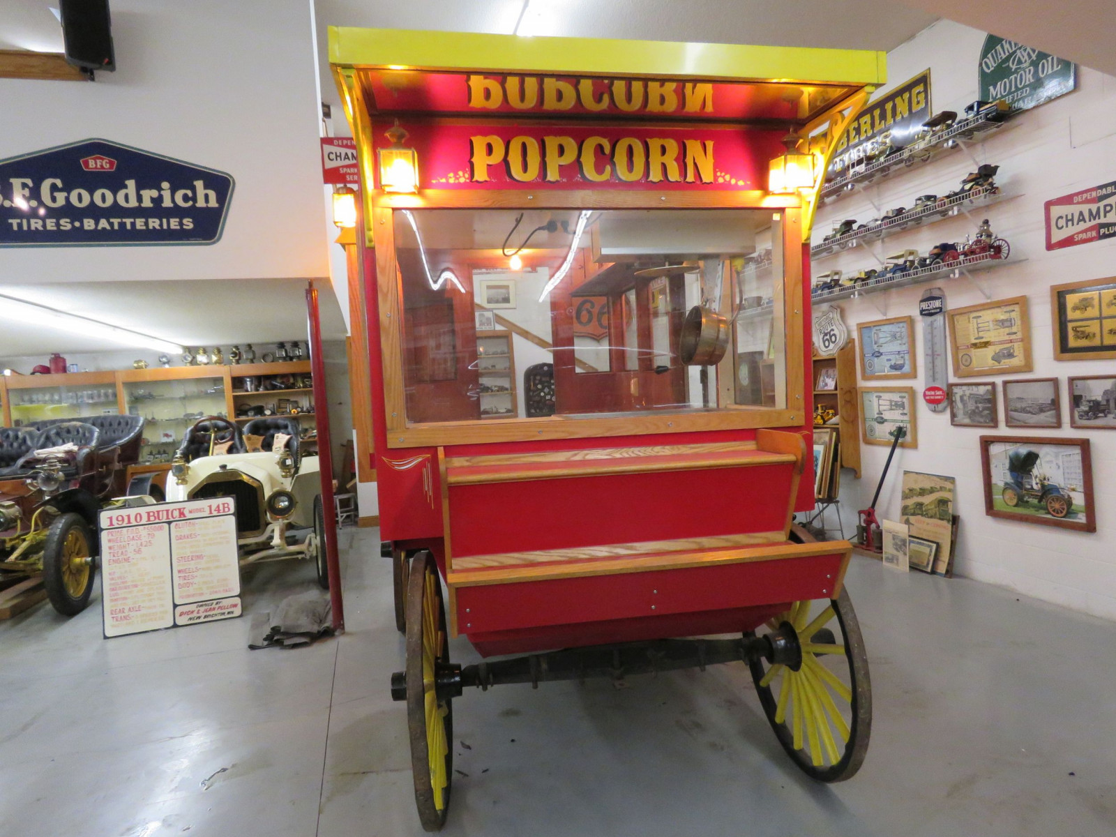 Restored Horse Drawn Popcorn Wagon - Image 2
