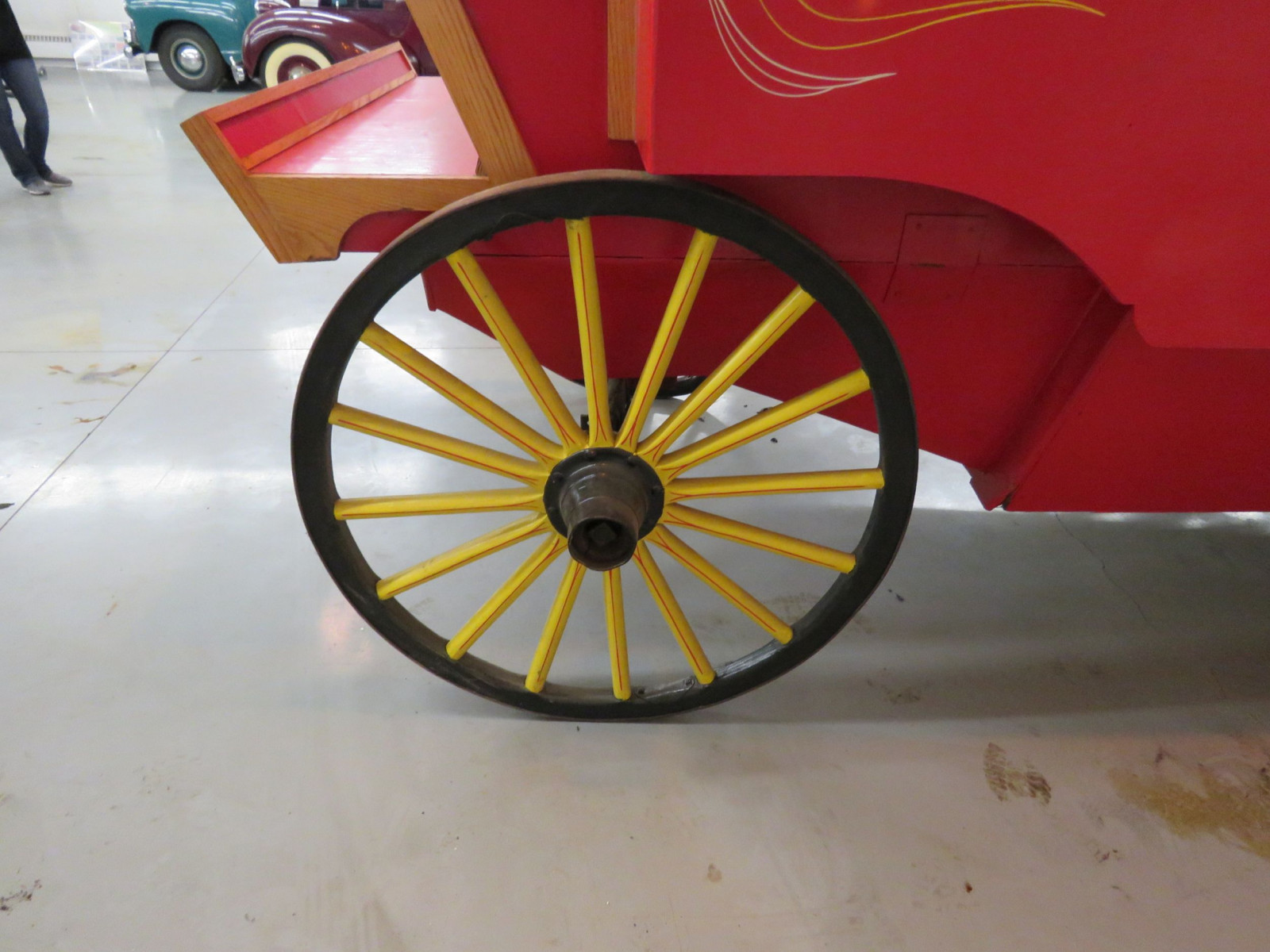Restored Horse Drawn Popcorn Wagon - Image 4
