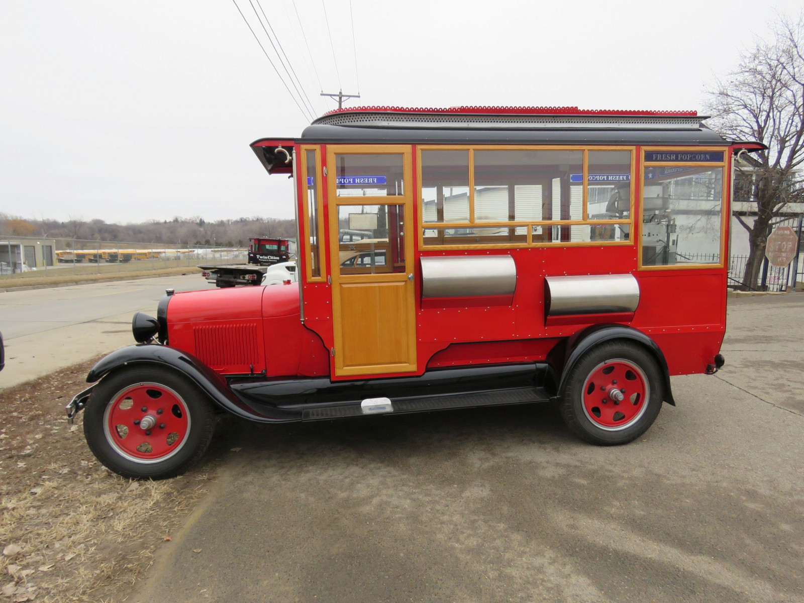 1928 Ford Model AA Popcorn Truck - Image 2