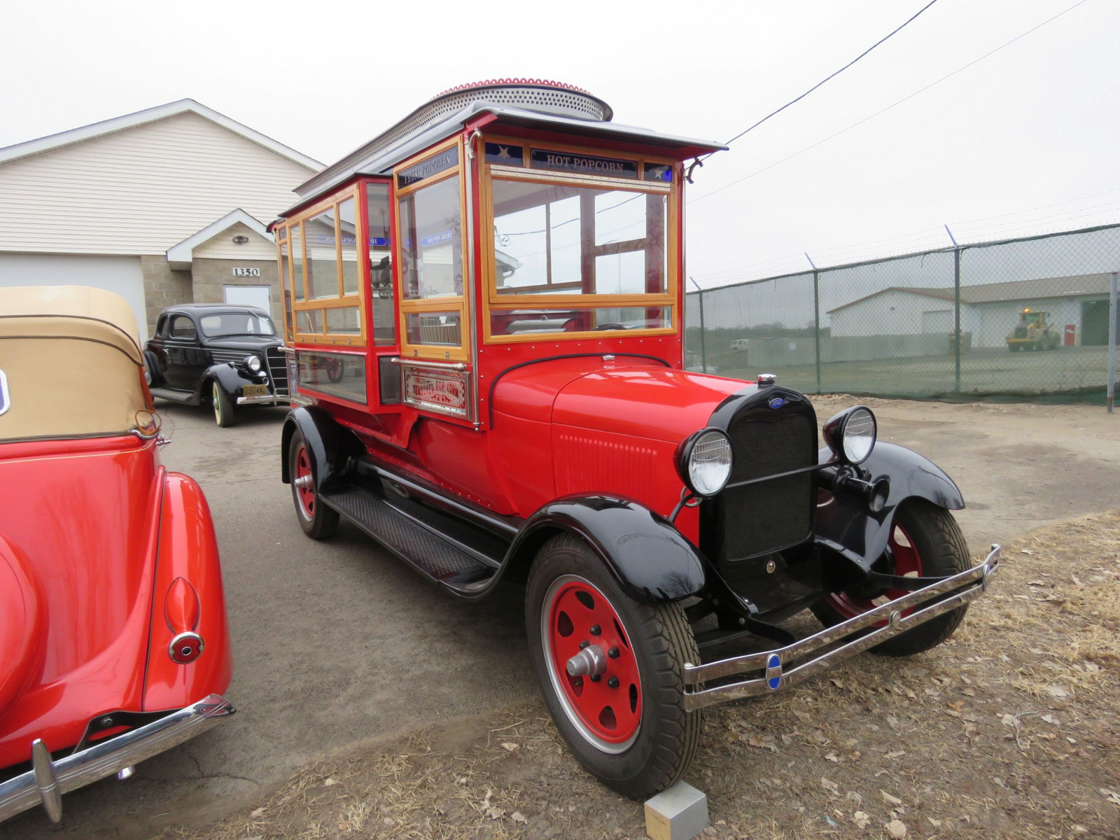 1928 Ford Model AA Popcorn Truck - Image 4