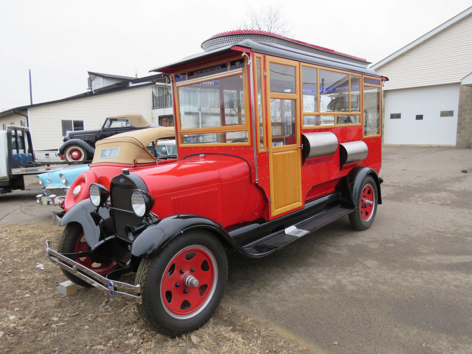 1928 Ford Model AA Popcorn Truck - Image 6