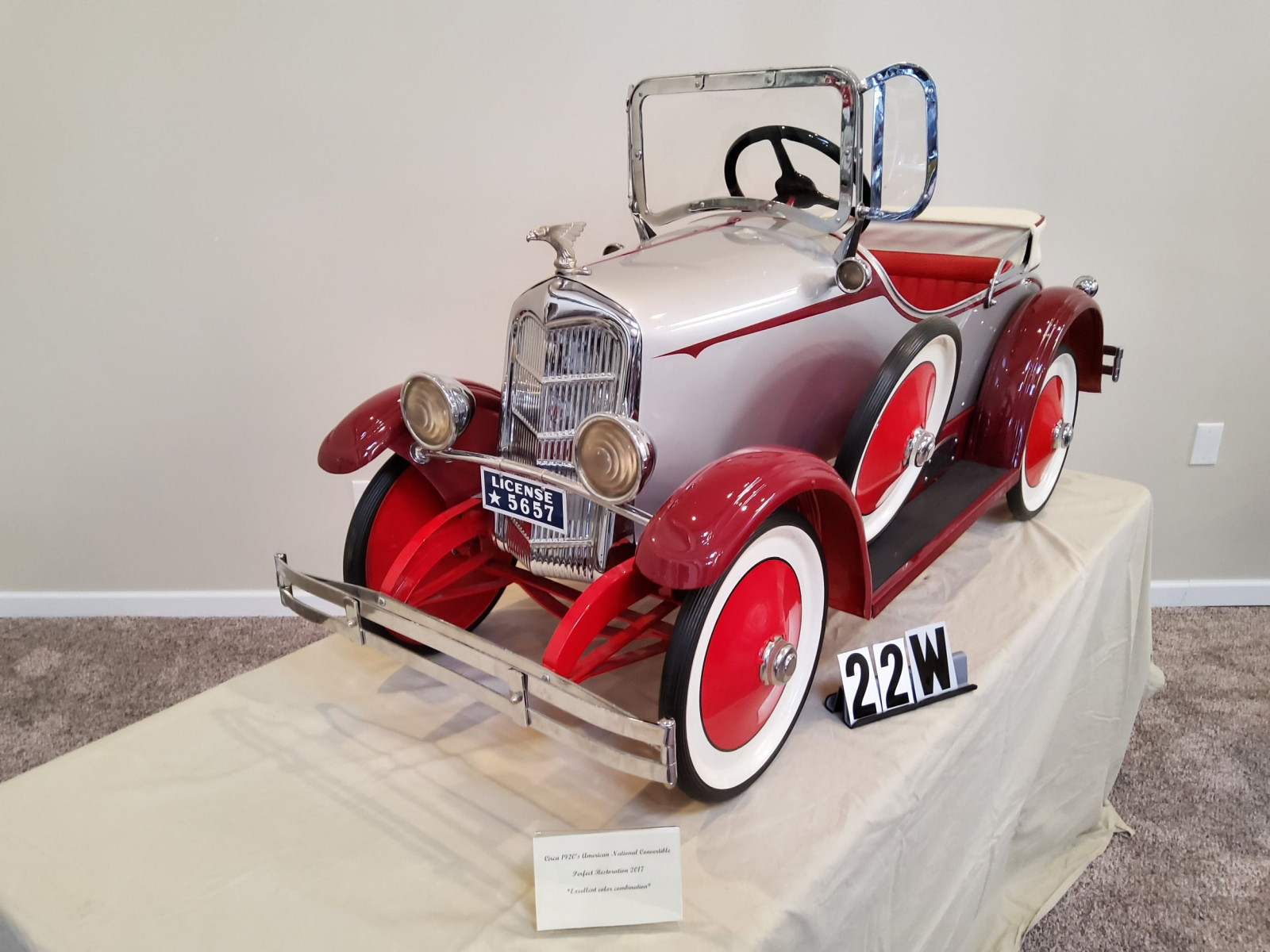 1920's American National Pedal Car - Image 1
