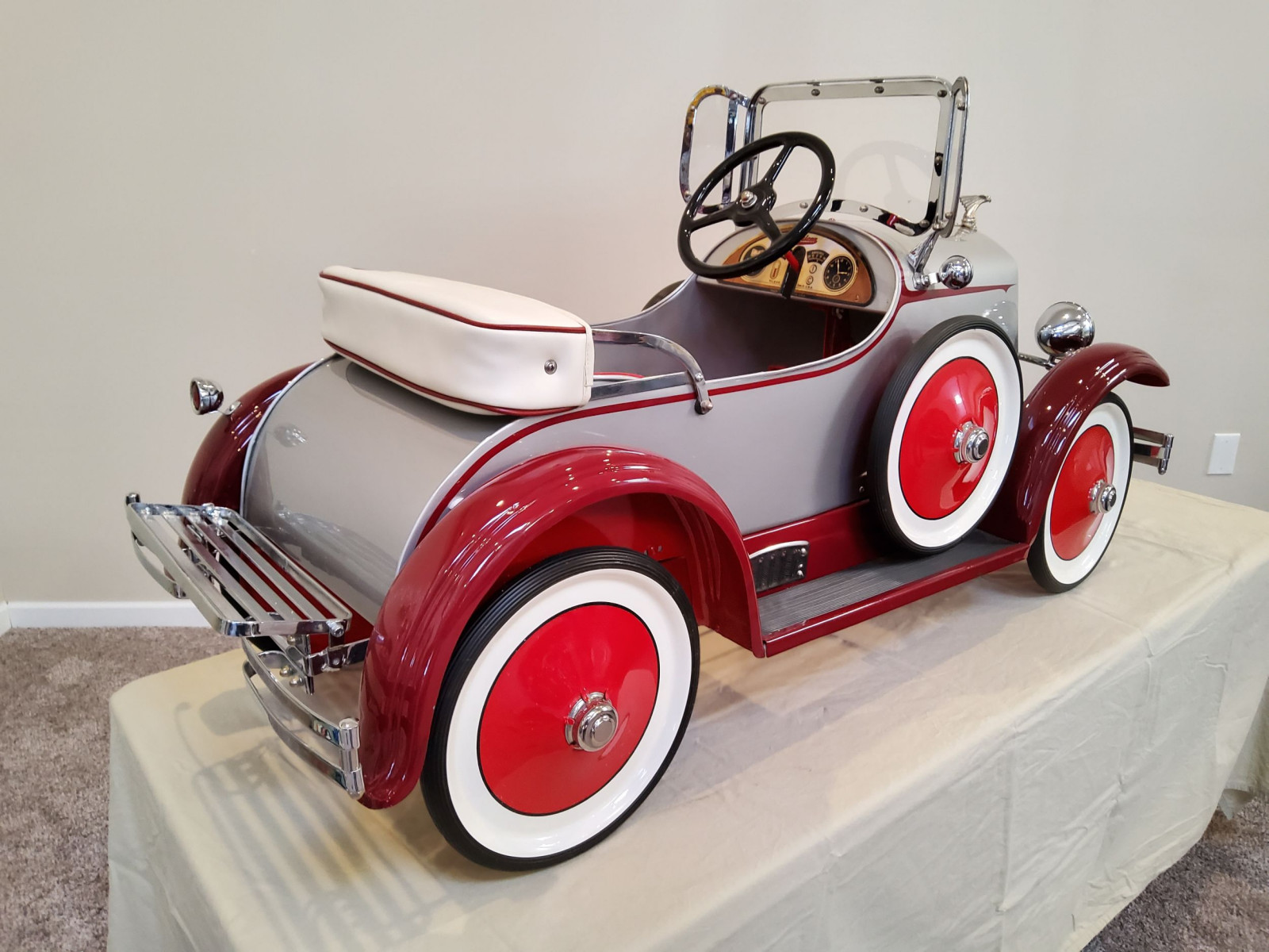 1920's American National Pedal Car - Image 7