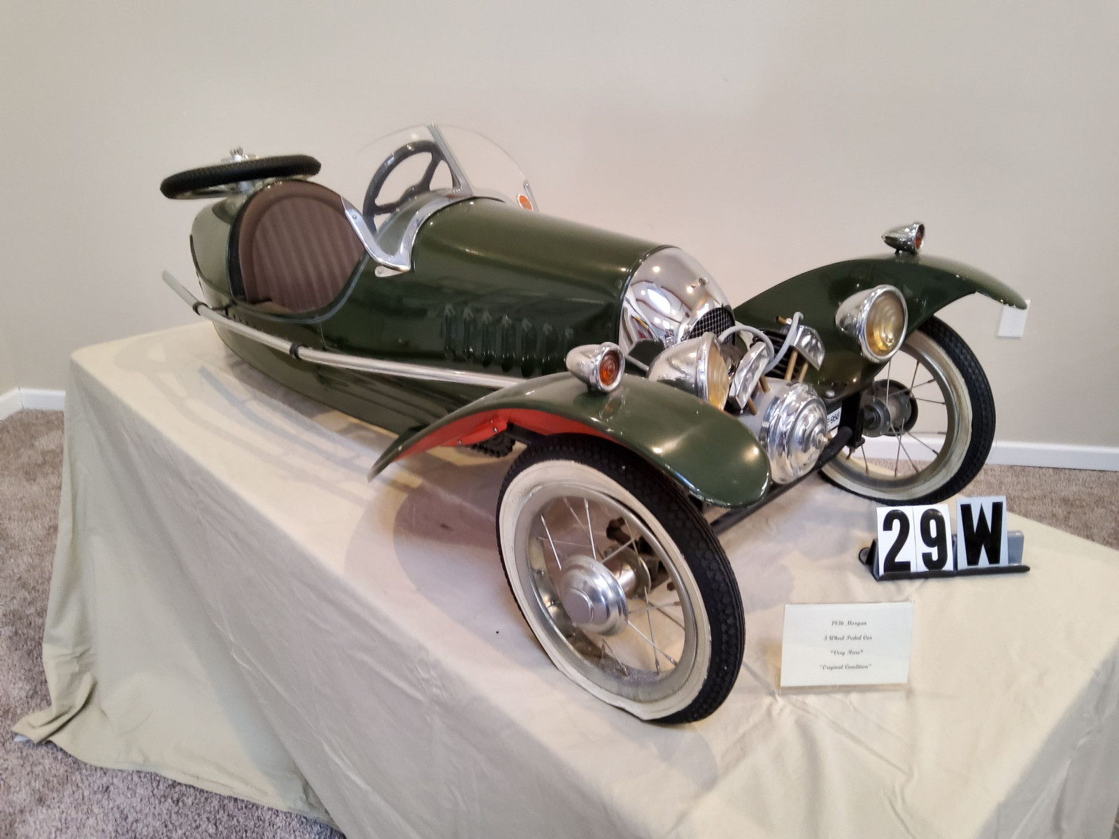 1936 Morgan Pedal Car - Image 2