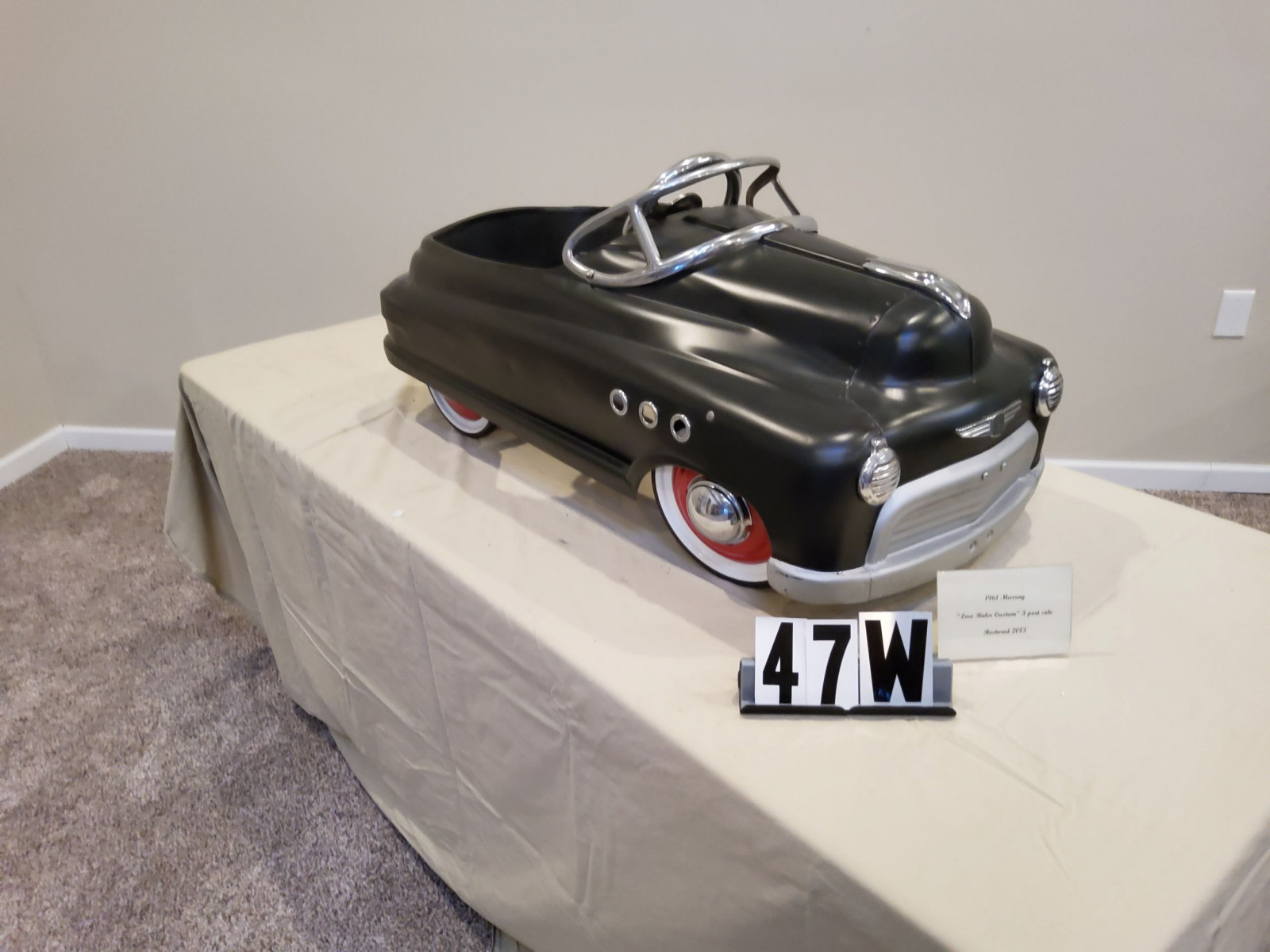 1961 Murray Low Rider Custom Pedal Car - Image 2