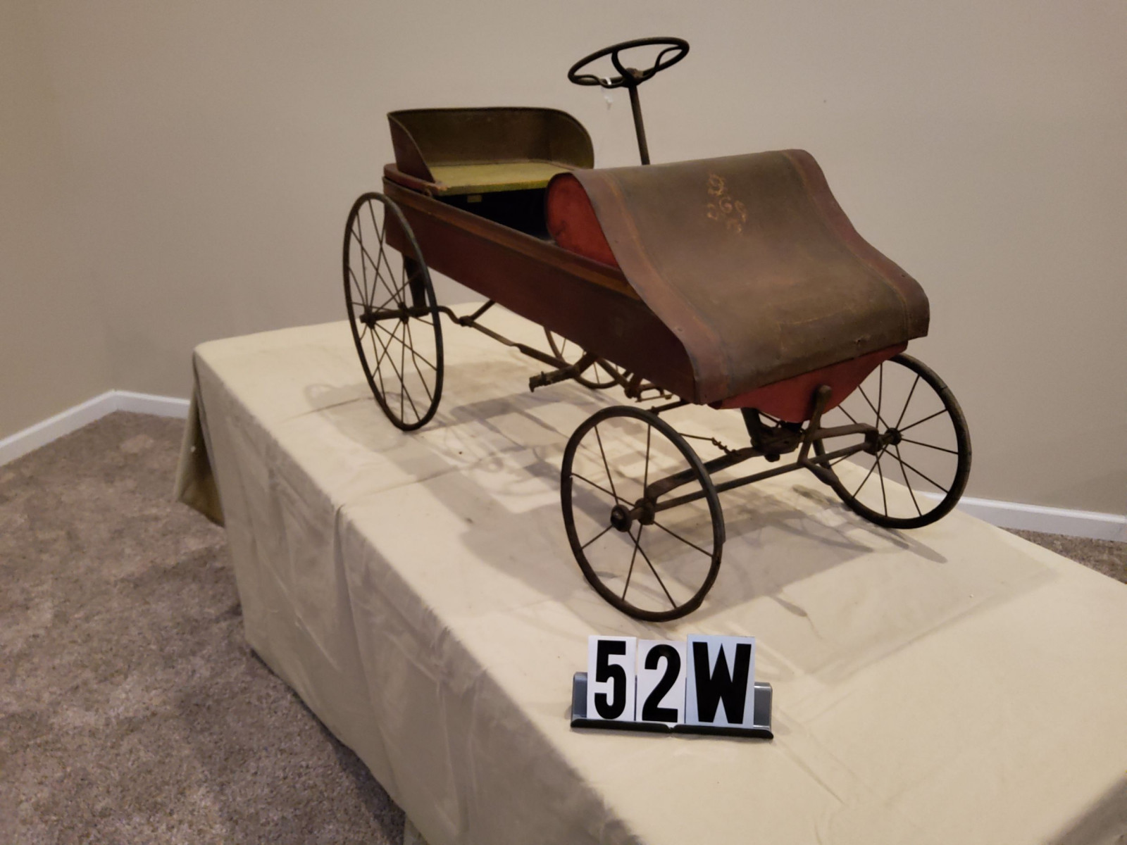 Early 1900's Pedal Car - Image 2