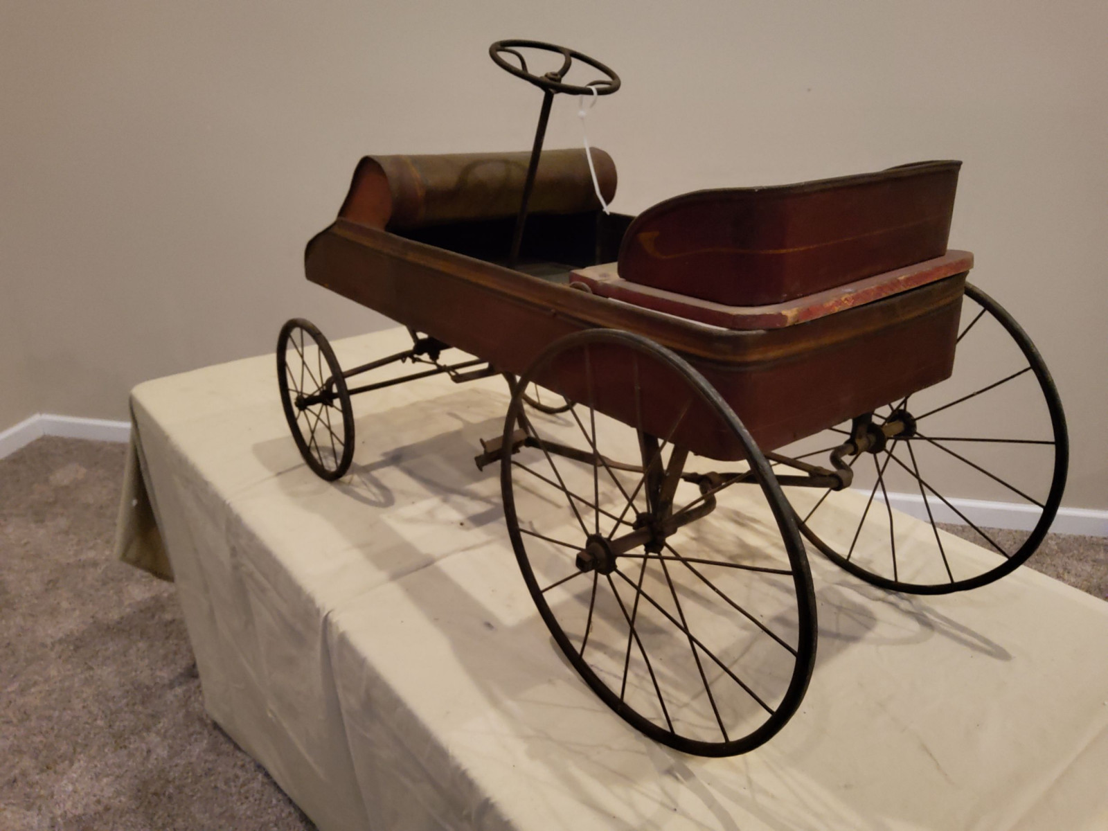 Early 1900's Pedal Car - Image 5
