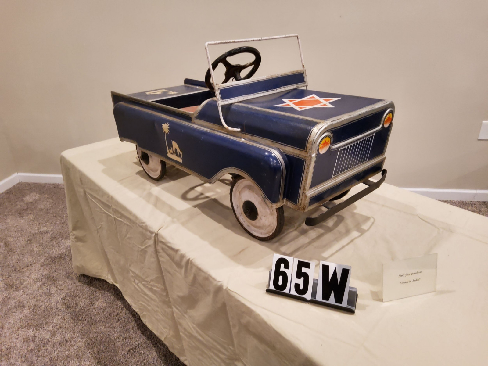 1963 Jeep Pedal Car - Image 2