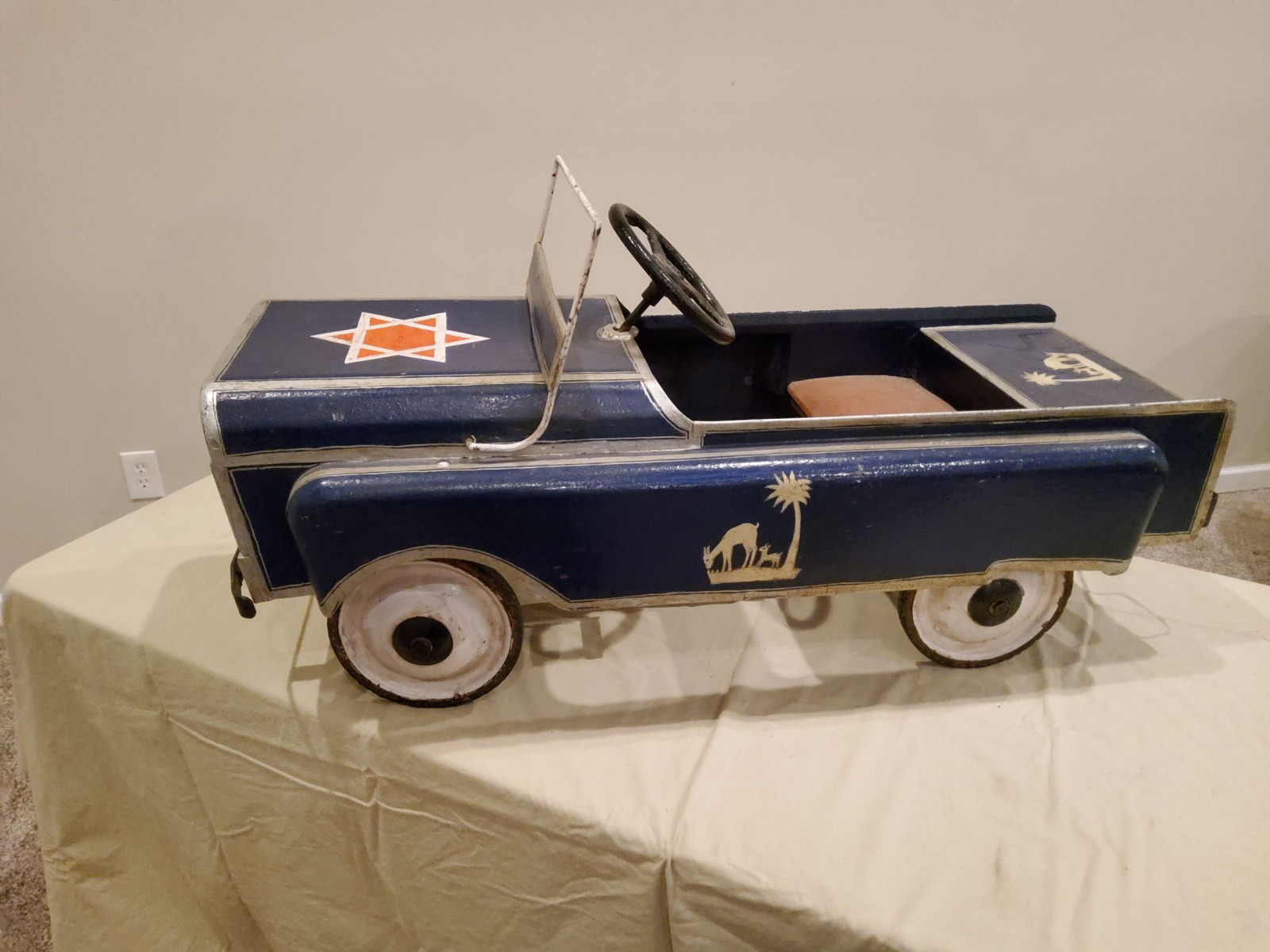 1963 Jeep Pedal Car - Image 6