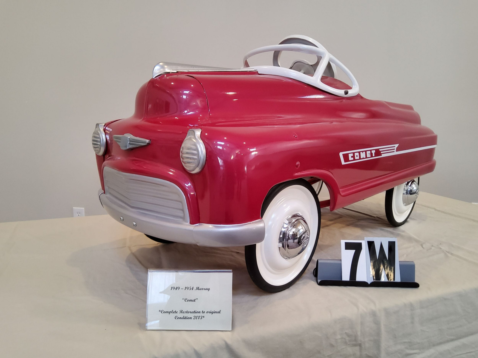 1949-54 Murray Comet Pedal Car - Image 2