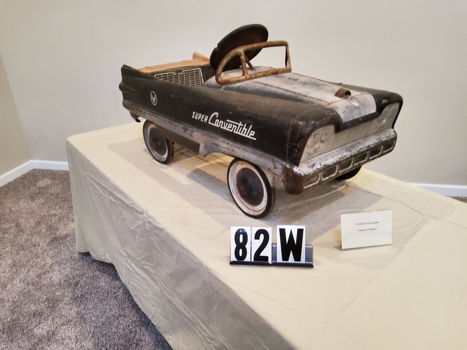 1954 AMF Super Convertible Pedal Car - Image 2